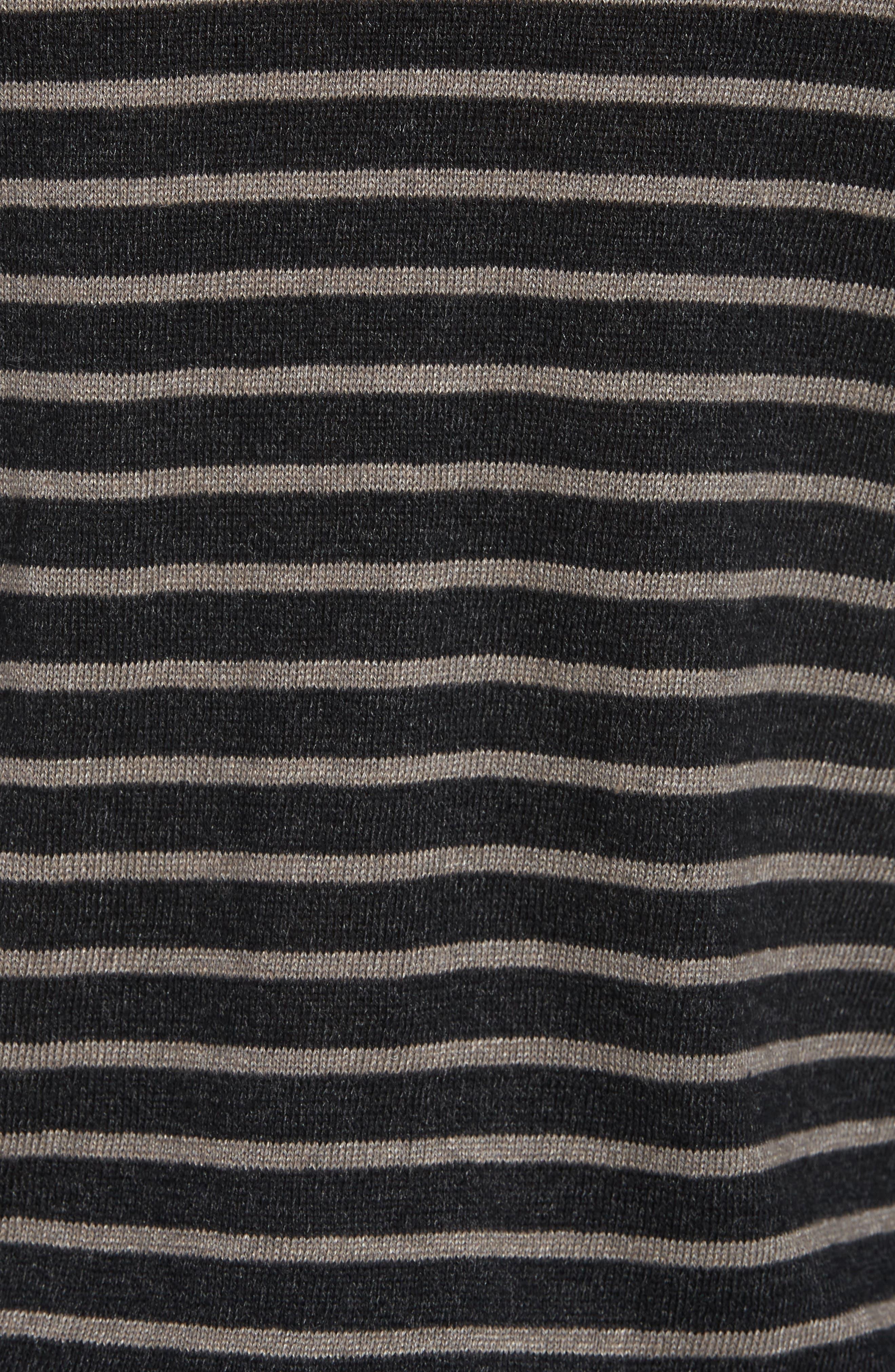 Stripe Hoodie,                             Alternate thumbnail 5, color,                             001