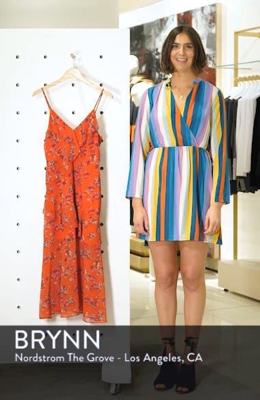 Heart & Soul Ruffle Detail Tea Length Dress, sales video thumbnail