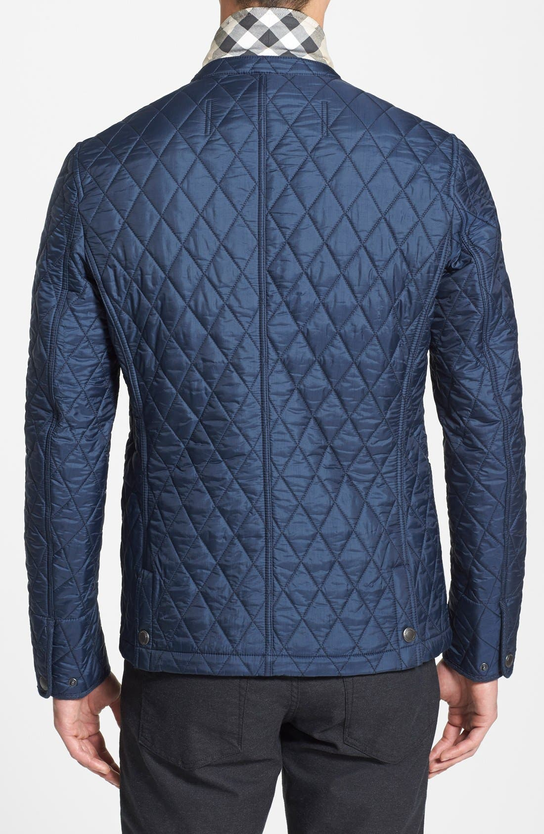 'Howe' Quilted Sport Jacket,                             Alternate thumbnail 4, color,                             410