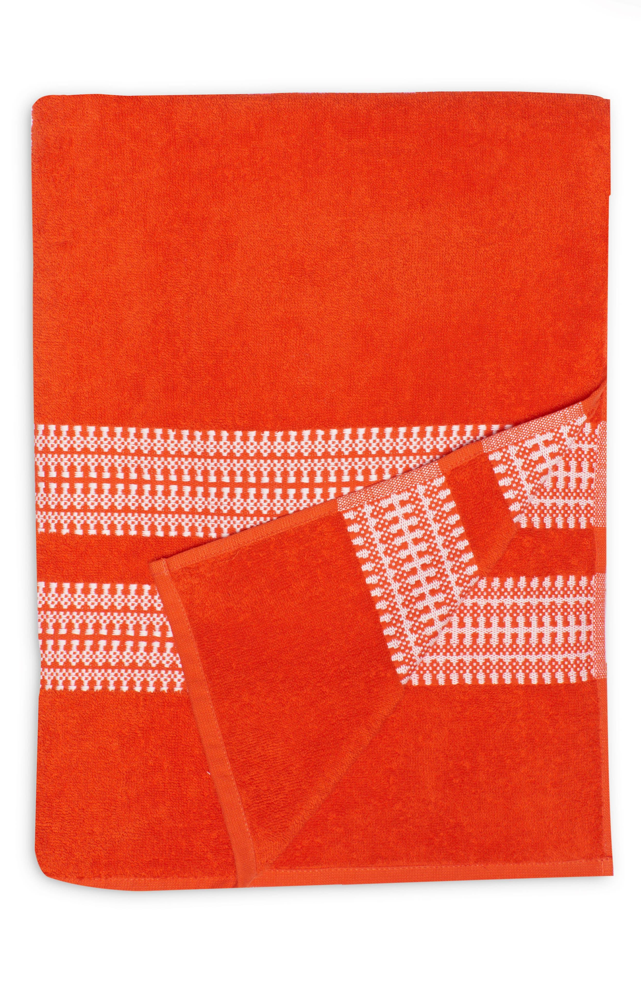 Bay Stripe Beach Towel,                             Main thumbnail 4, color,