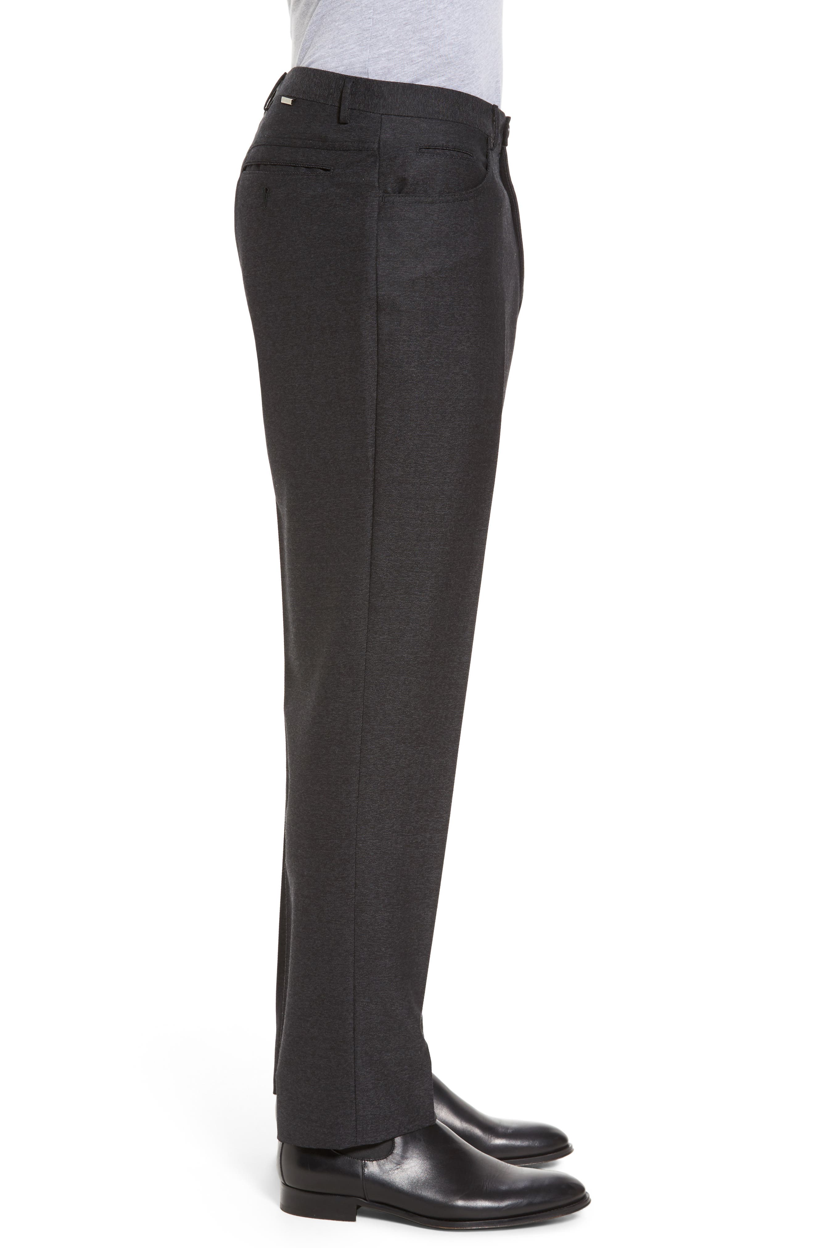 Sartorial Wool Five-Pocket Pants,                             Alternate thumbnail 3, color,                             001