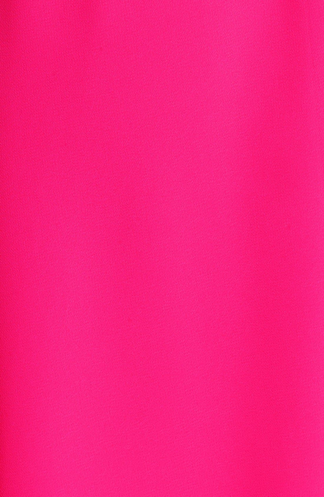 Blouson Chiffon Skater Dress,                             Alternate thumbnail 148, color,