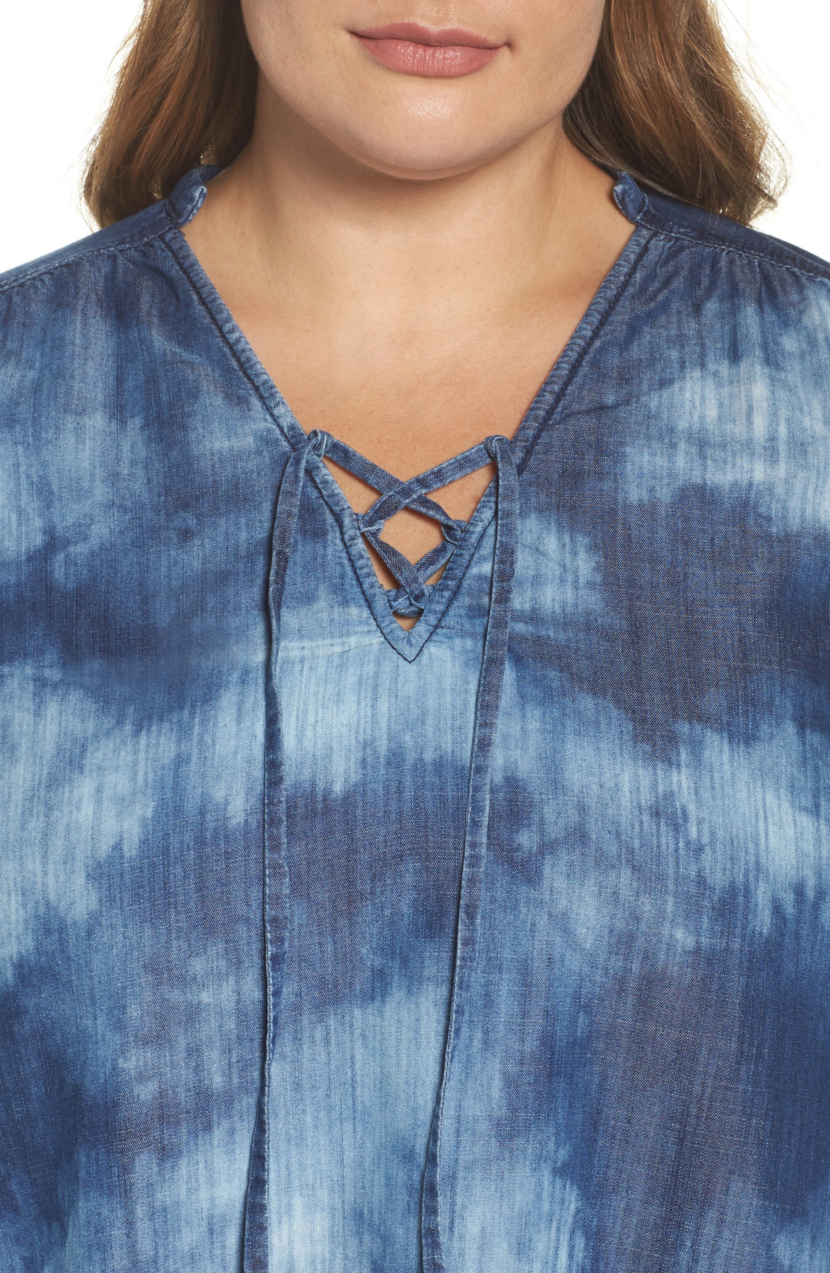 Bell Sleeve Top,                             Alternate thumbnail 4, color,                             422