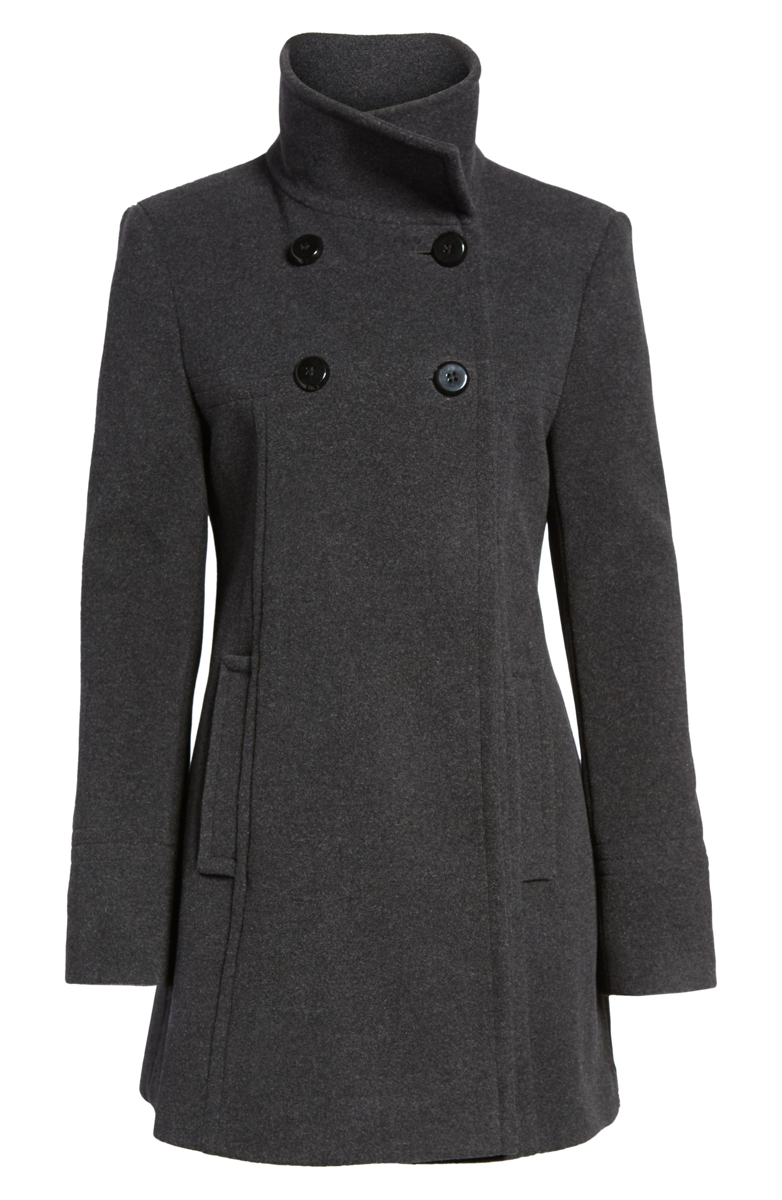 Double Breasted Coat,                             Alternate thumbnail 5, color,                             029