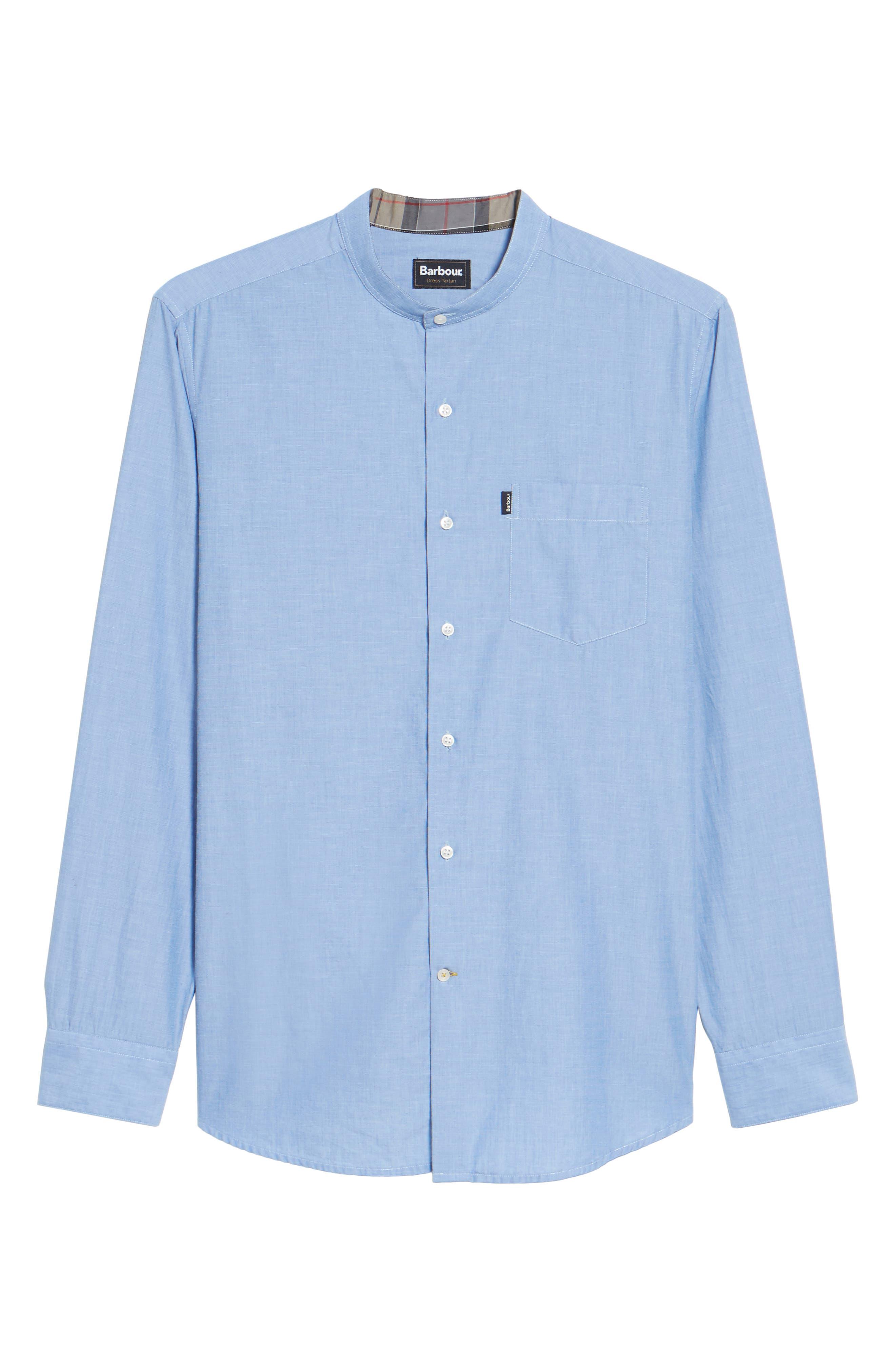 Fairfield Tailored Fit Sport Shirt,                             Alternate thumbnail 6, color,                             450