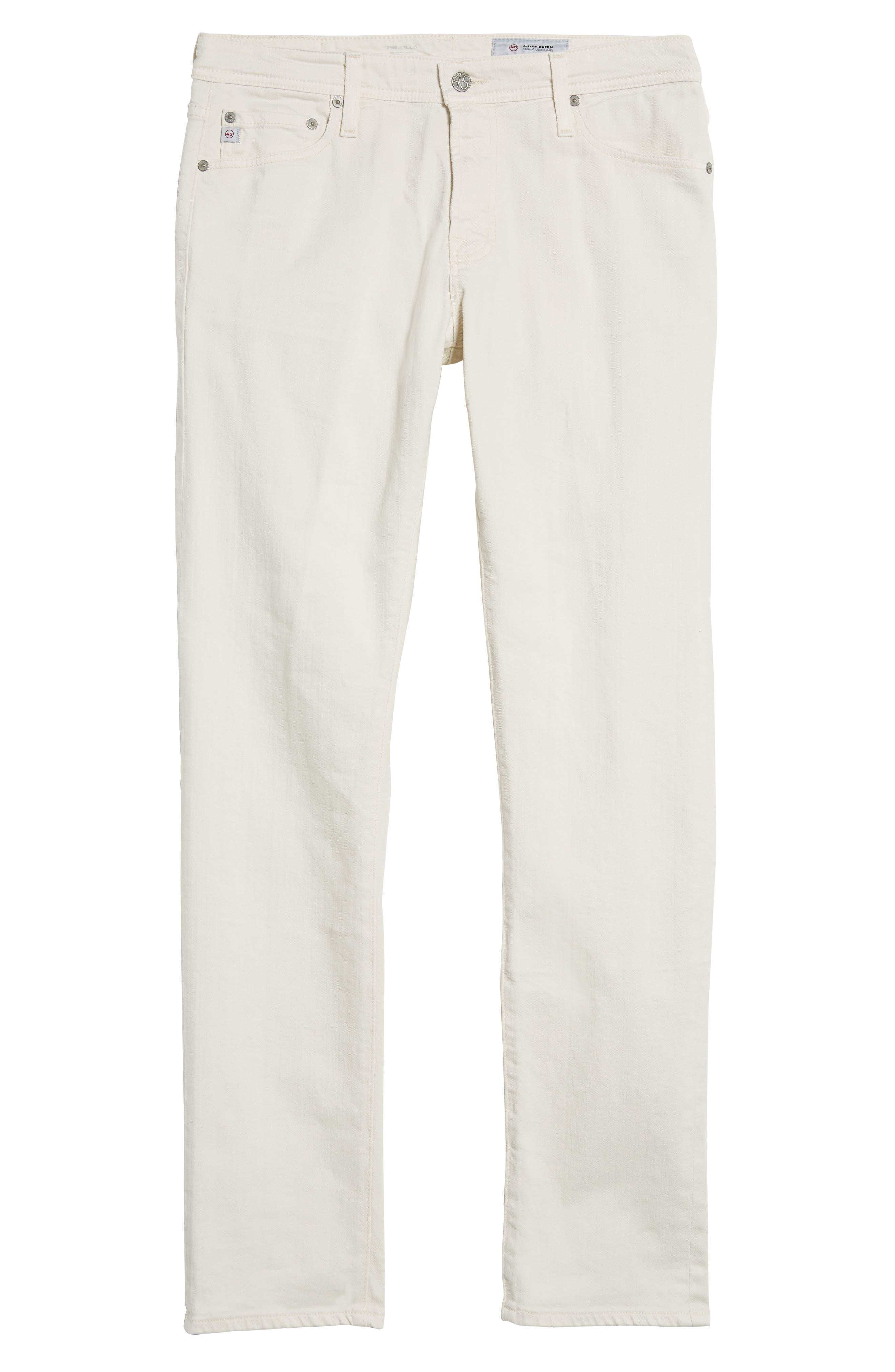 Tellis Modern Slim Twill Pants,                             Alternate thumbnail 6, color,                             020