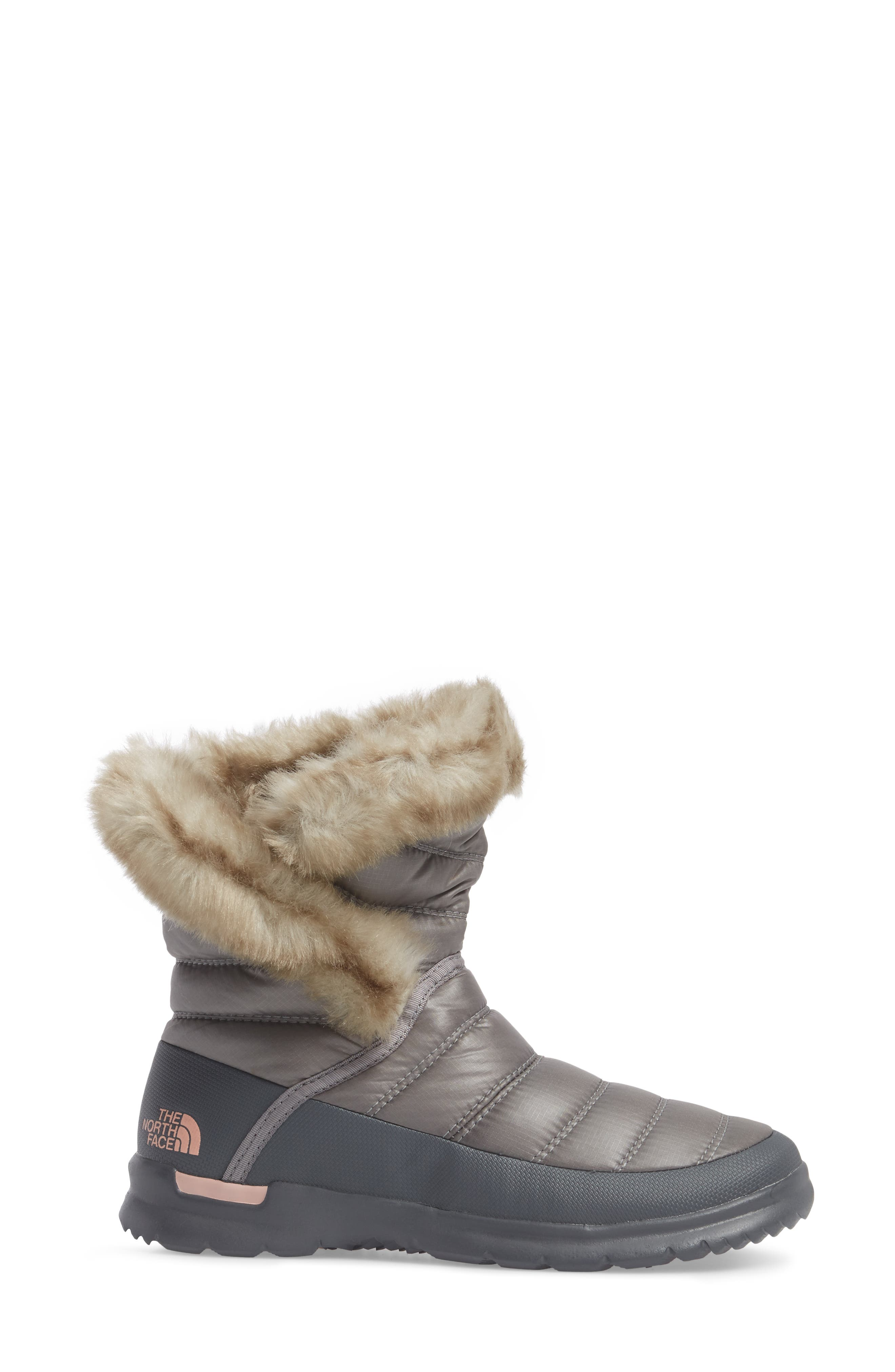 THE NORTH FACE,                             Microbaffle Waterproof ThermoBall<sup>™</sup> Insulated Winter Boot,                             Alternate thumbnail 3, color,                             021