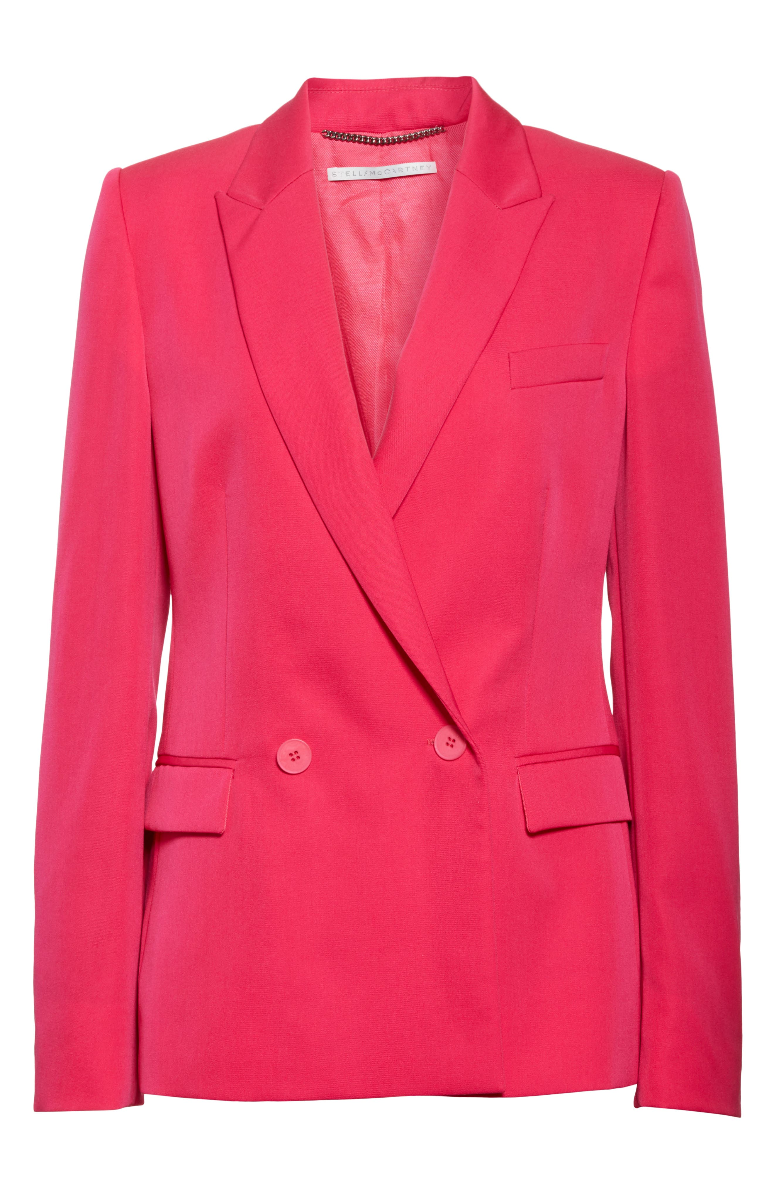 Double Breasted Blazer,                             Alternate thumbnail 5, color,                             650