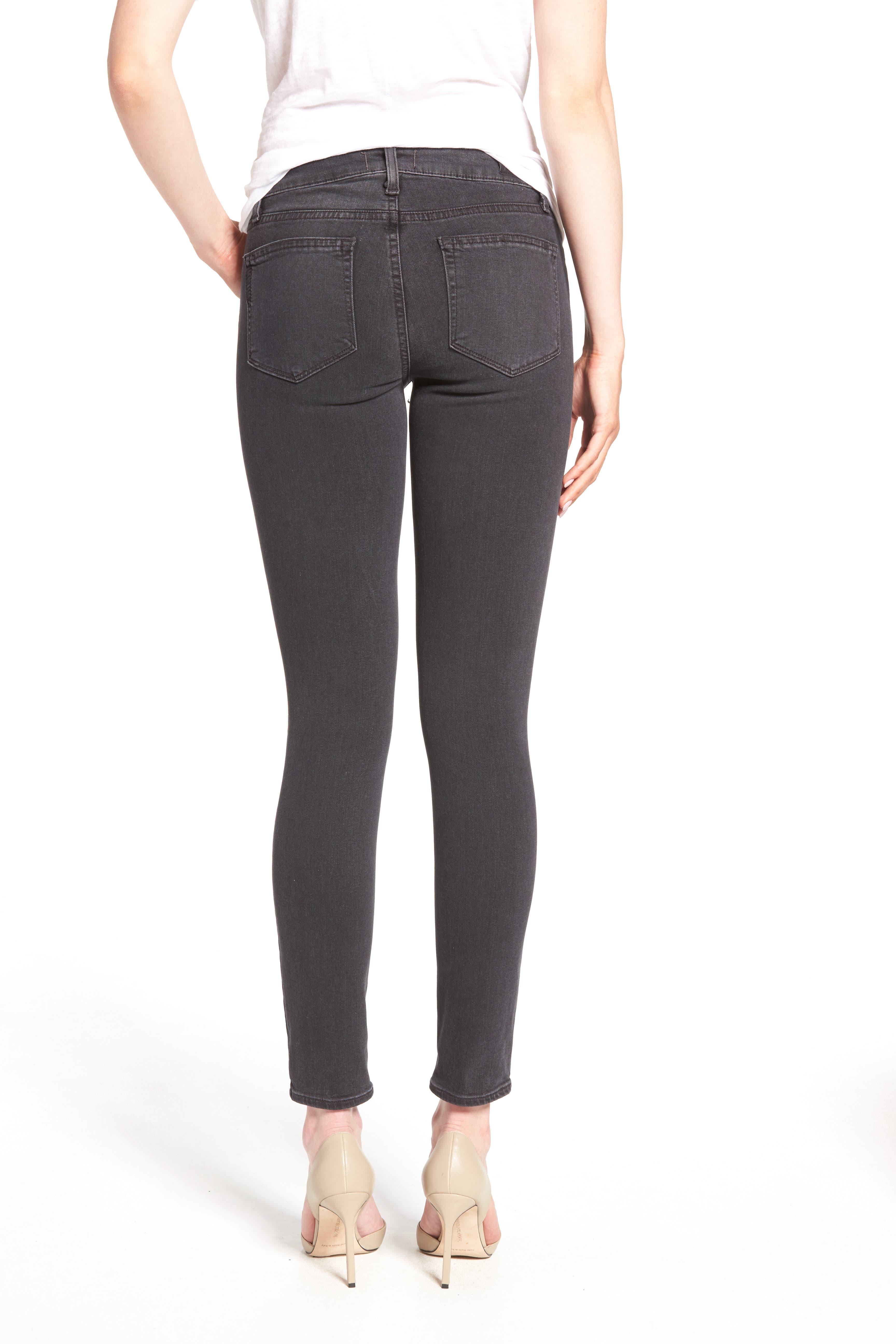 'Transcend - Verdugo' Ankle Skinny Jeans,                             Alternate thumbnail 3, color,                             020