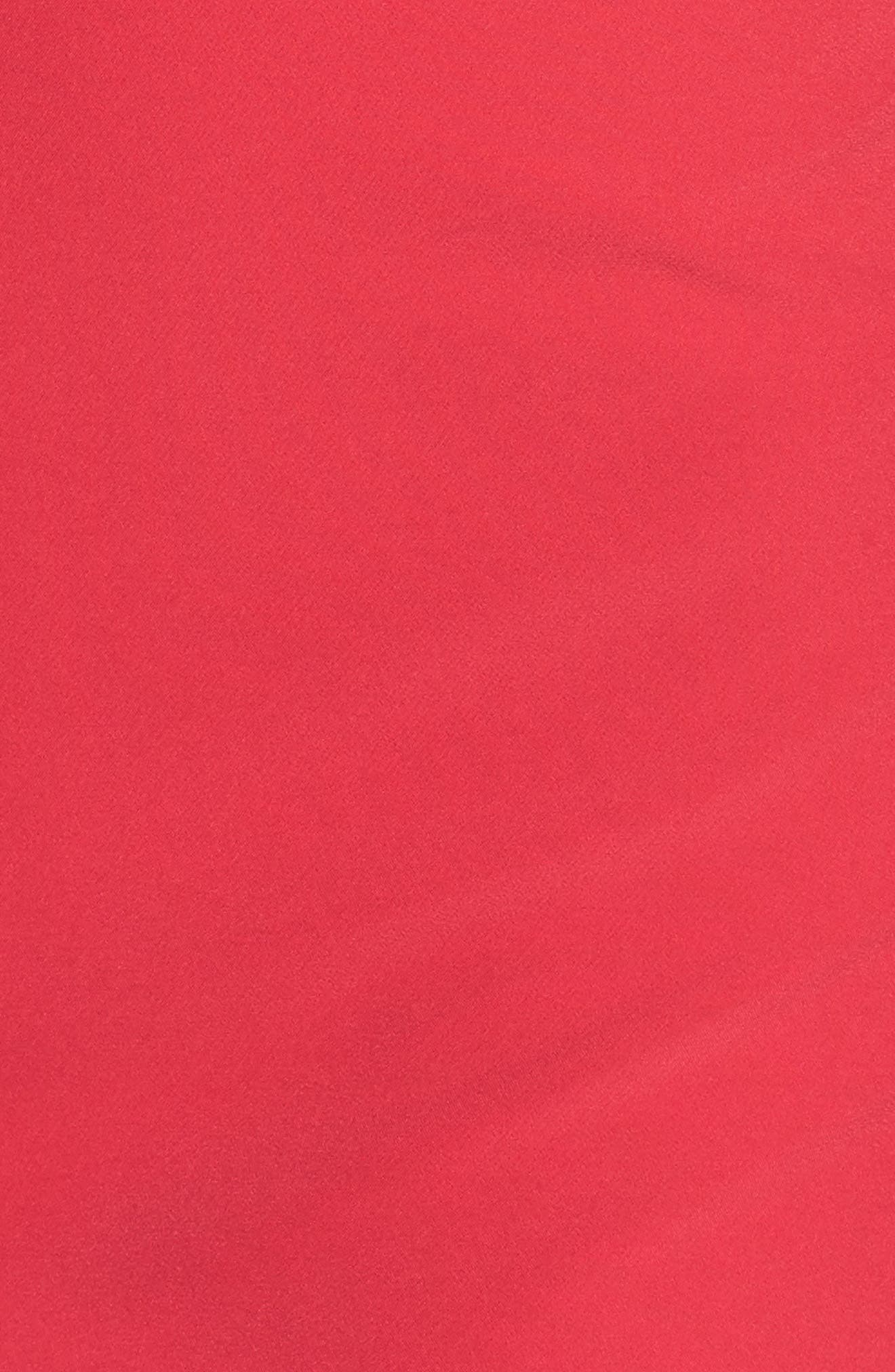 Scallop Sheath Dress,                             Alternate thumbnail 6, color,                             650