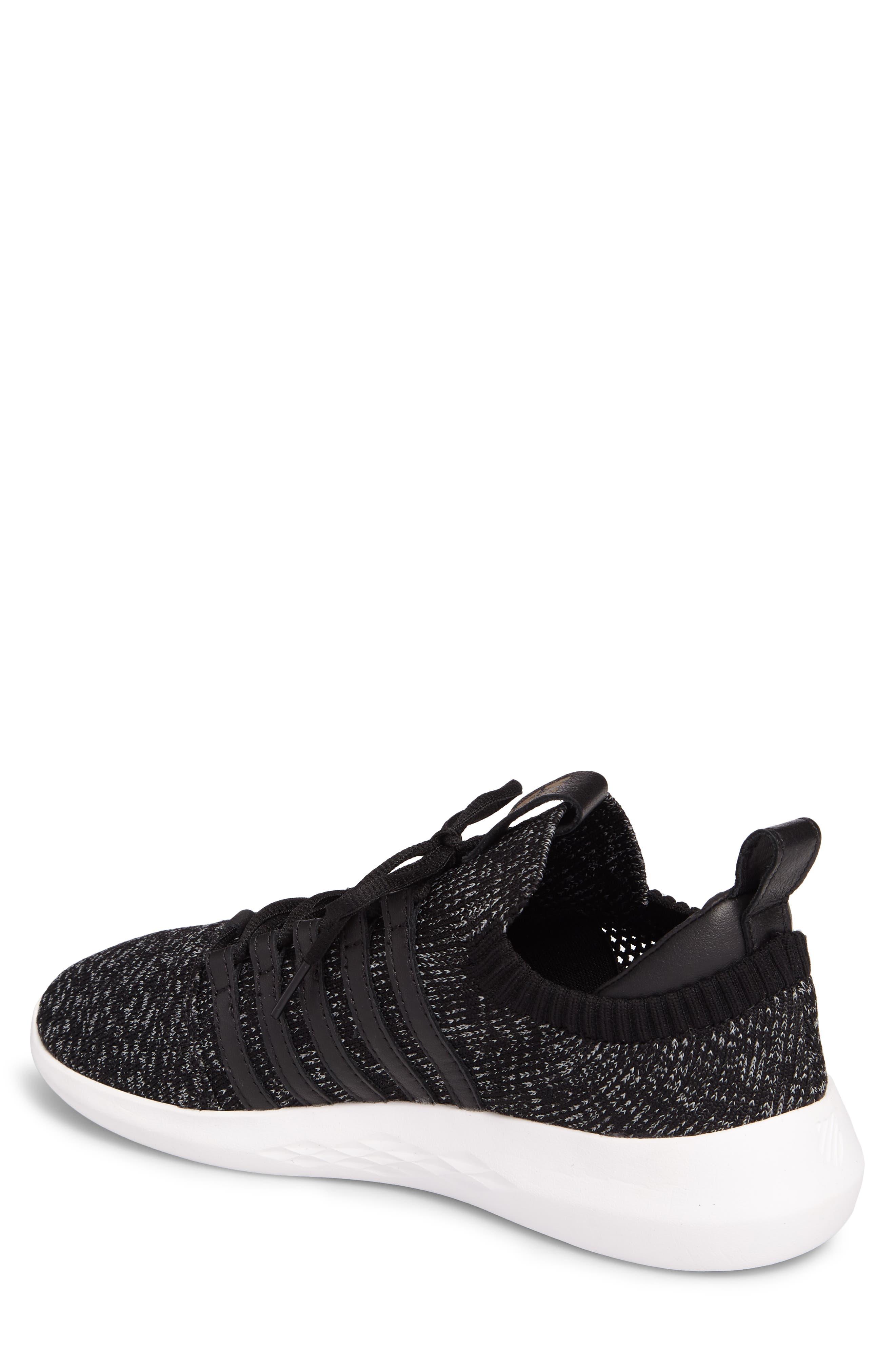 Gen-K Icon Knit Sneaker,                             Alternate thumbnail 2, color,                             BLACK/ GREY HEATHER