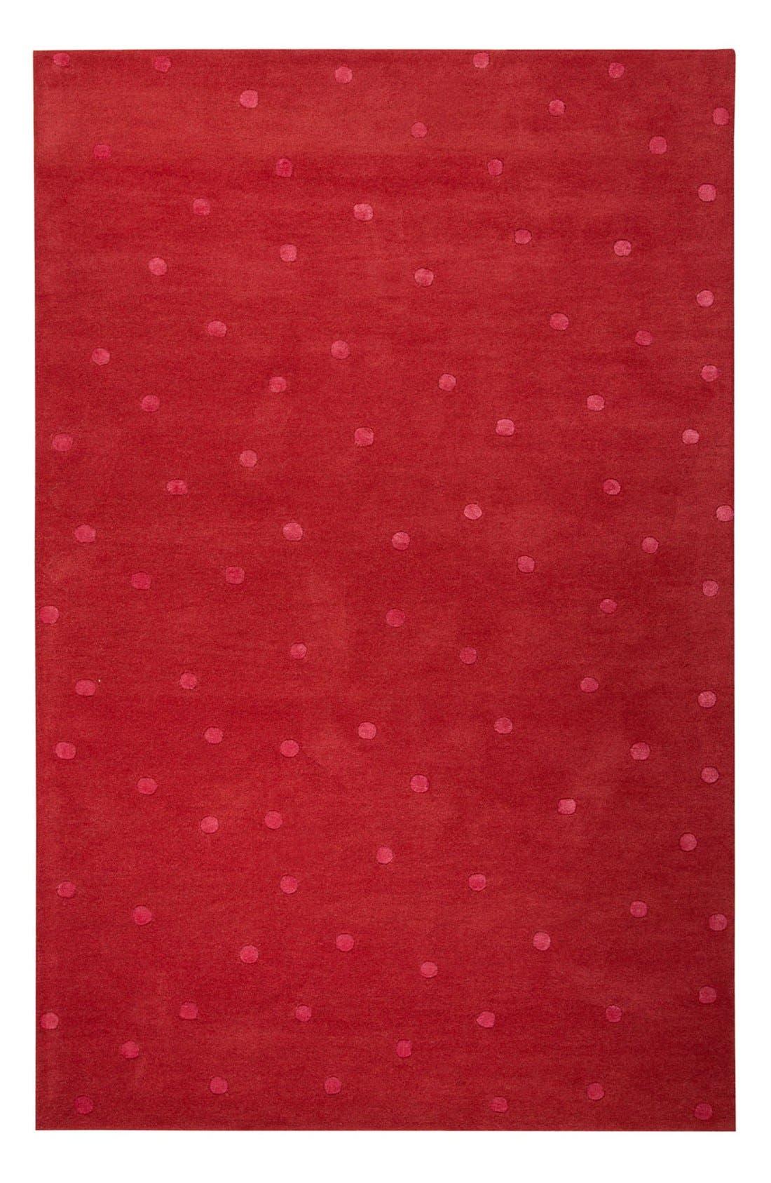 'gramercy - dots' rug,                             Main thumbnail 4, color,