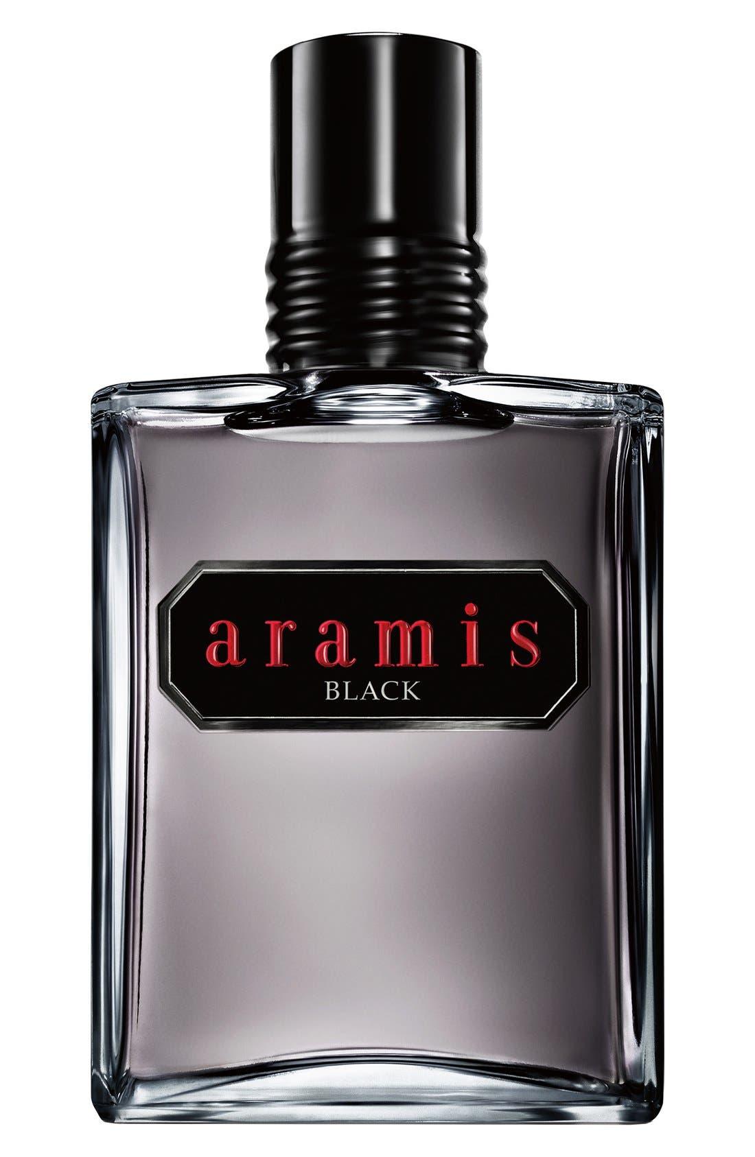 Aramis 'Black' Eau de Toilette,                             Main thumbnail 1, color,                             000