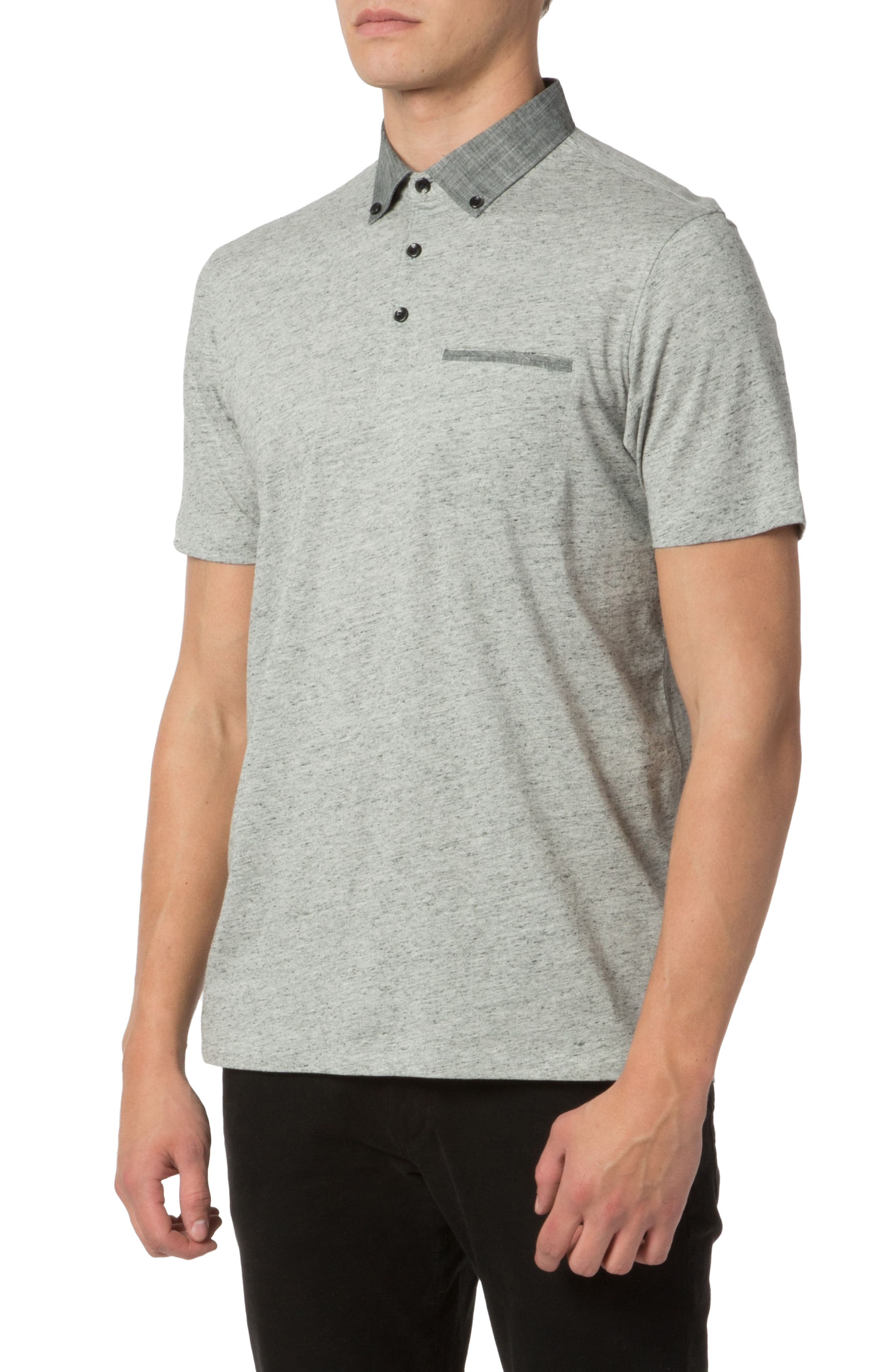 Soft Jersey Polo,                             Alternate thumbnail 4, color,                             030