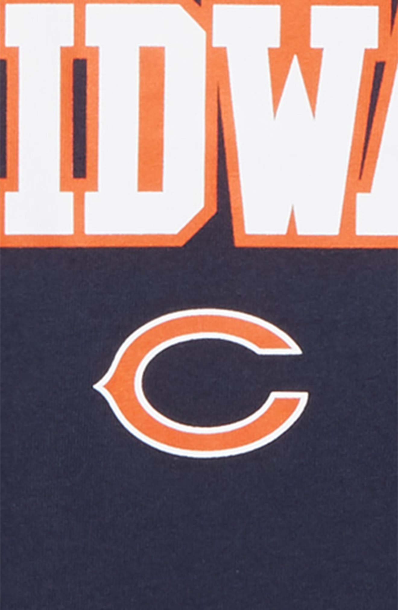 Dry Hyperlocal NFL Chicago Bears T-Shirt,                             Alternate thumbnail 2, color,                             NAVY