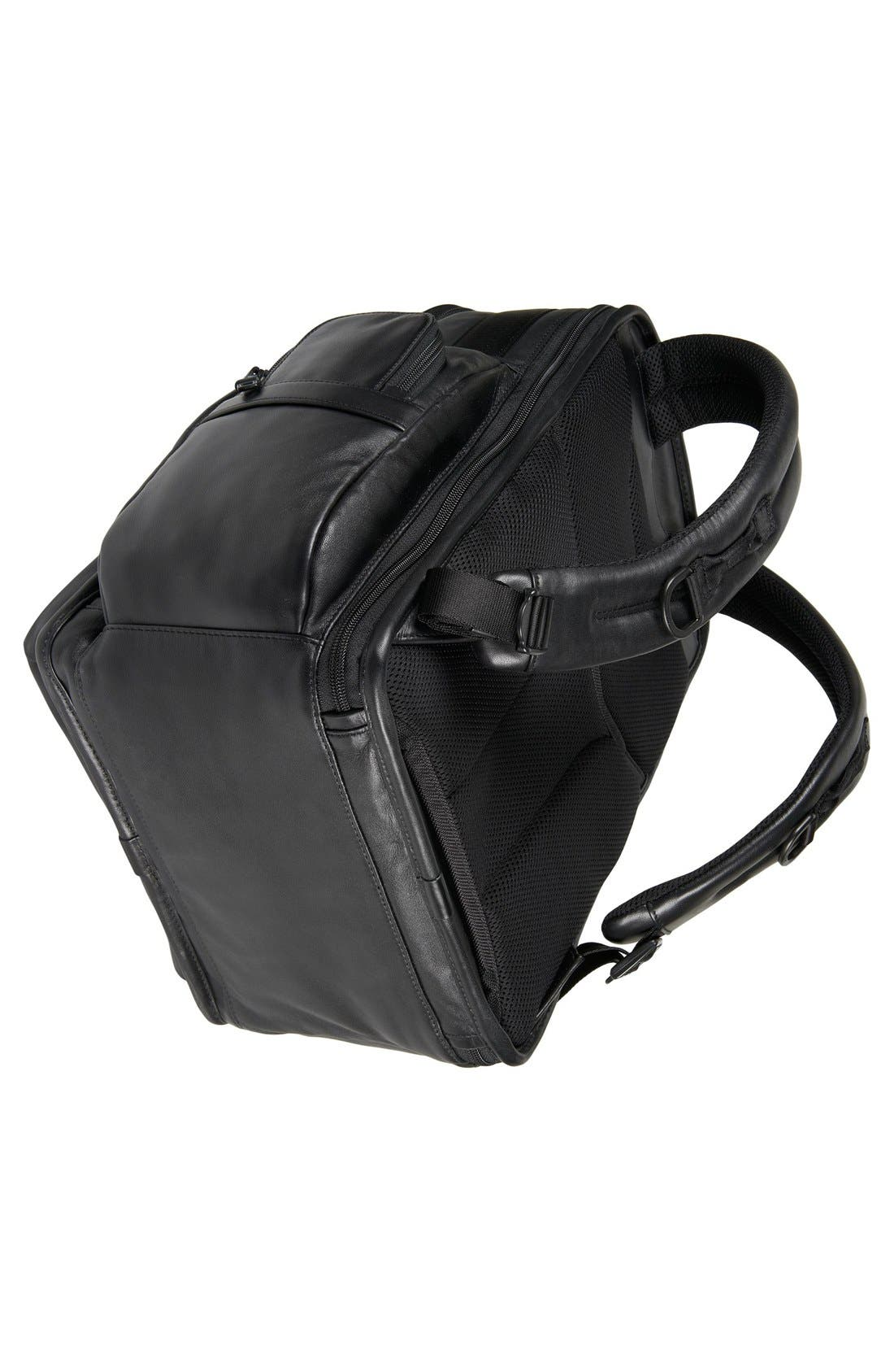 Alpha 2 T-Pass<sup>®</sup> Leather Brief Pack<sup>®</sup>,                             Alternate thumbnail 5, color,                             007
