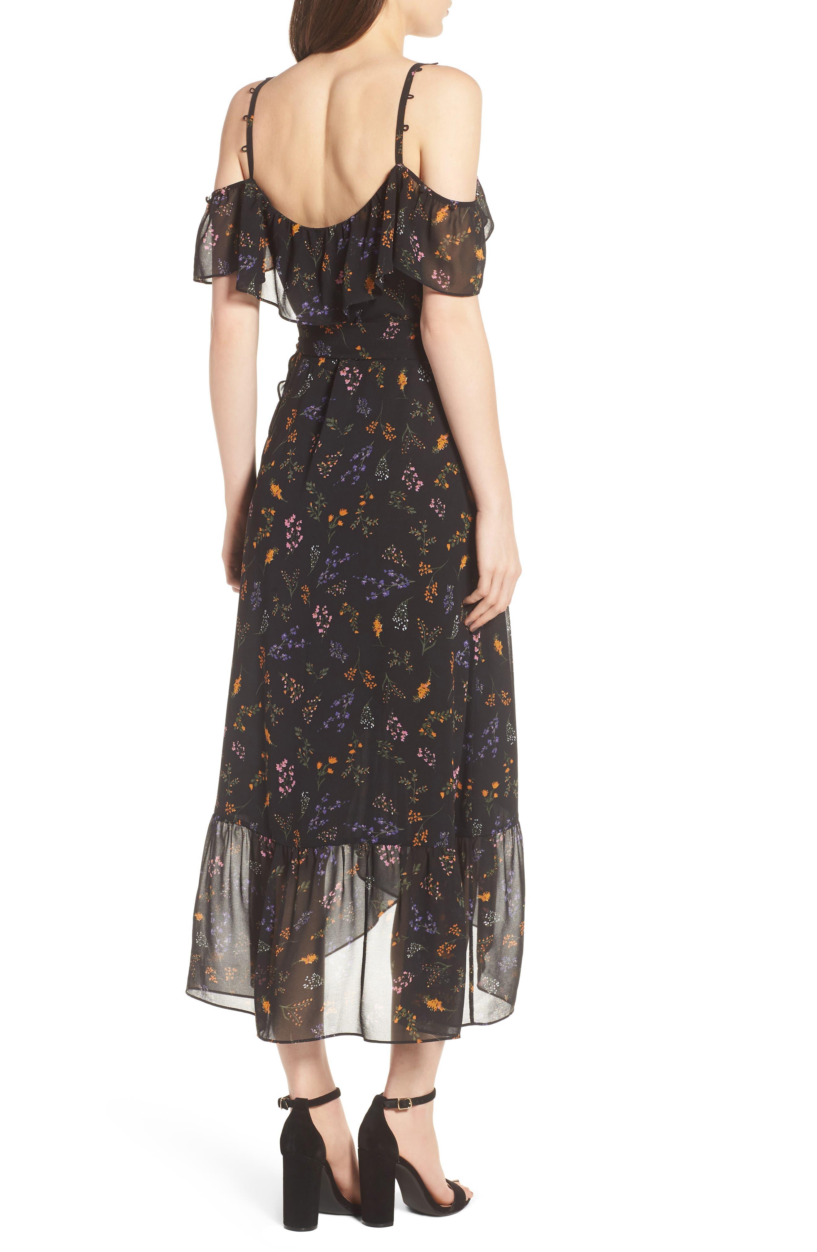 Jessica Wrap Dress,                             Alternate thumbnail 2, color,                             002