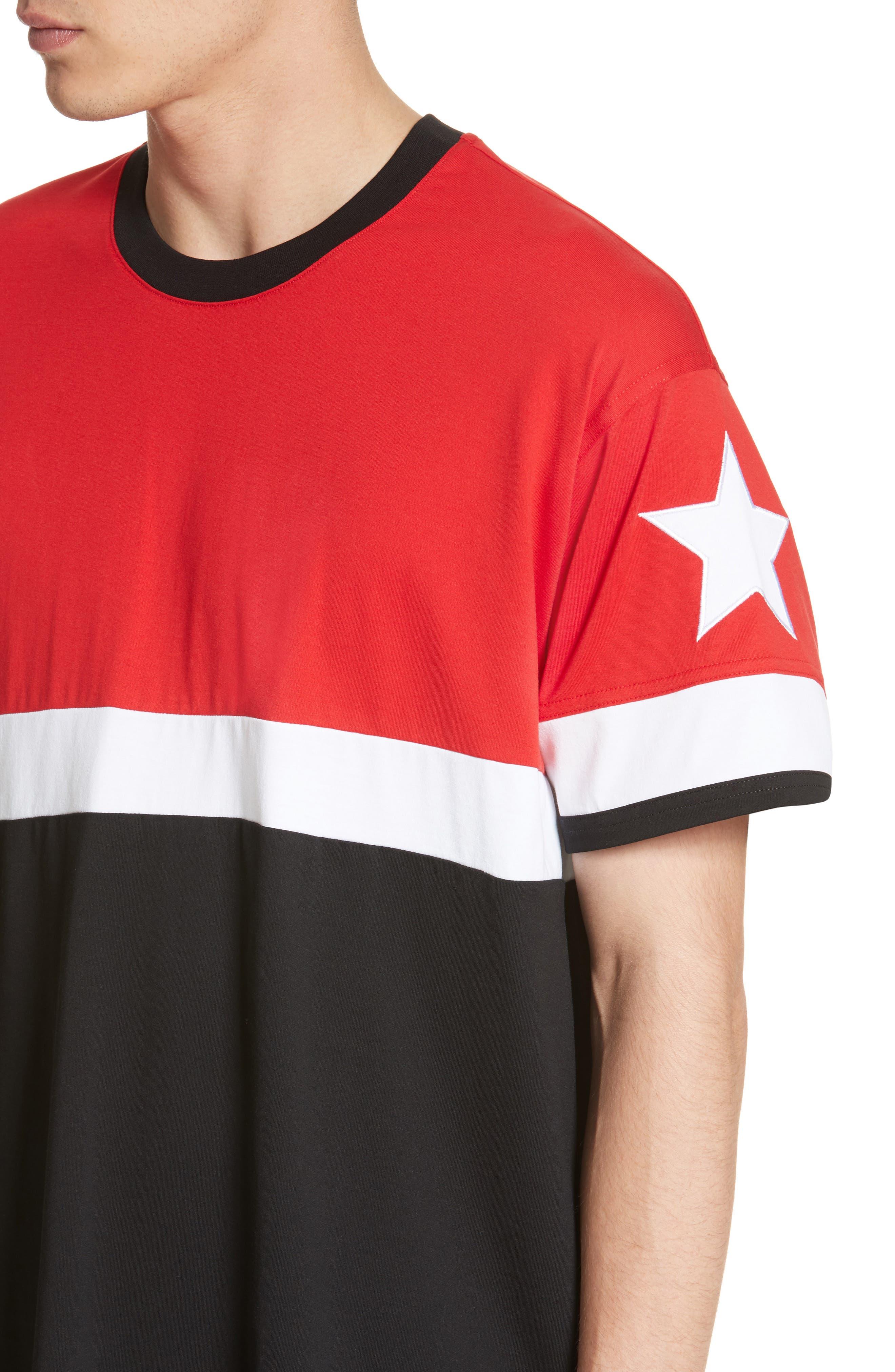 Columbian Fit Colorblock T-Shirt,                             Alternate thumbnail 8, color,