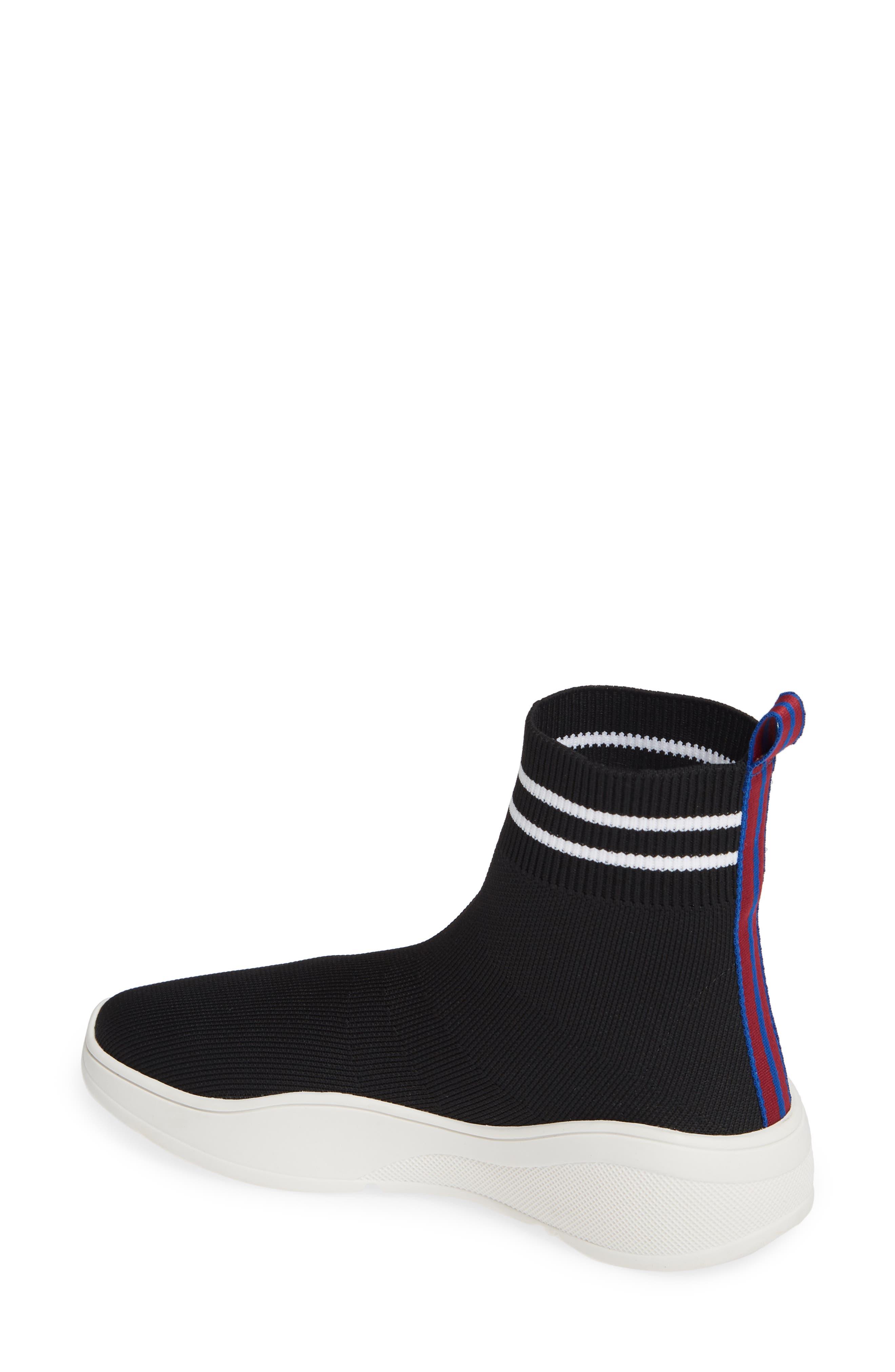 Found Sock Sneaker,                             Alternate thumbnail 2, color,                             BLACK