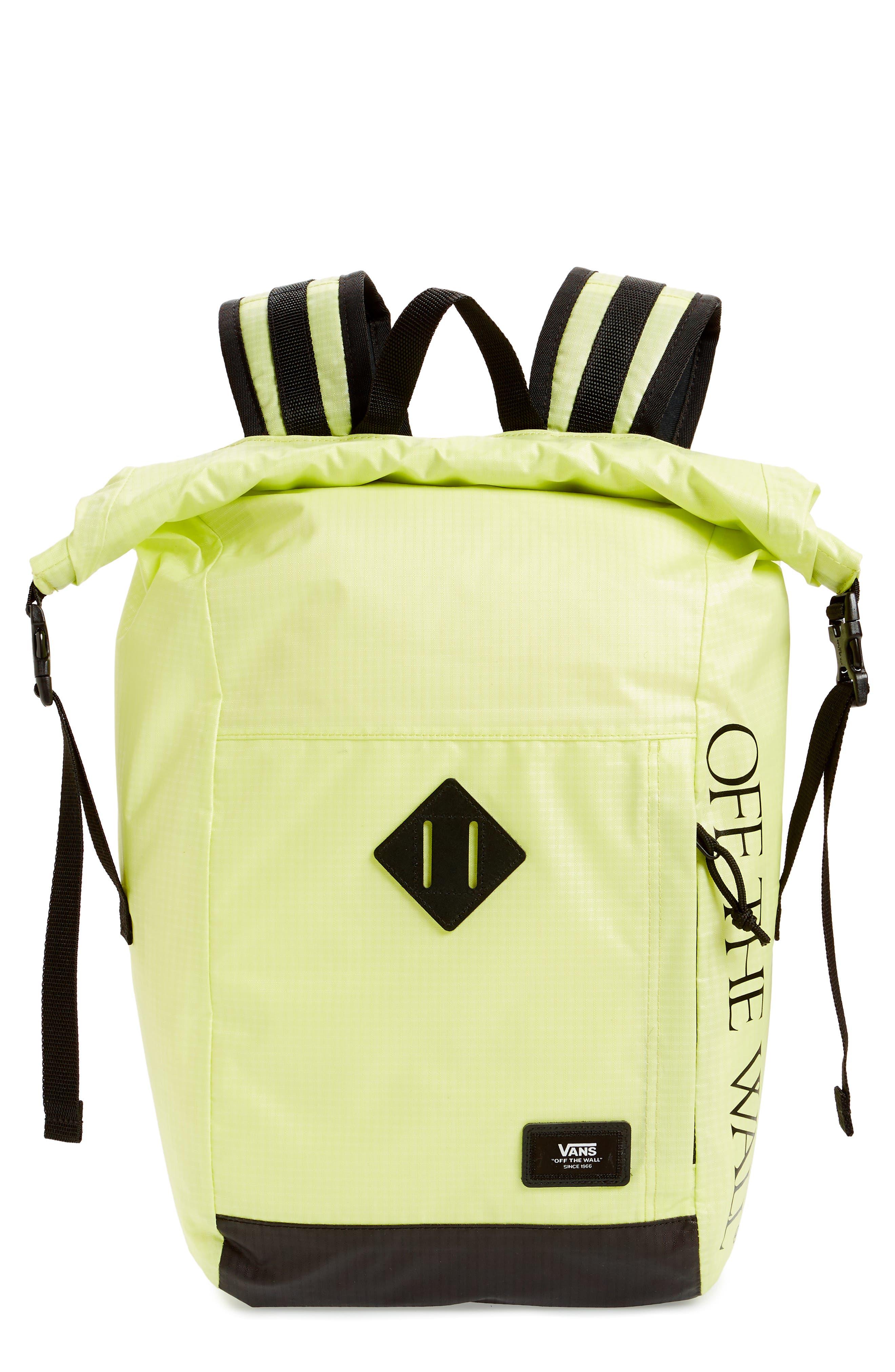 Vans Fend Rolltop Backpack - Green
