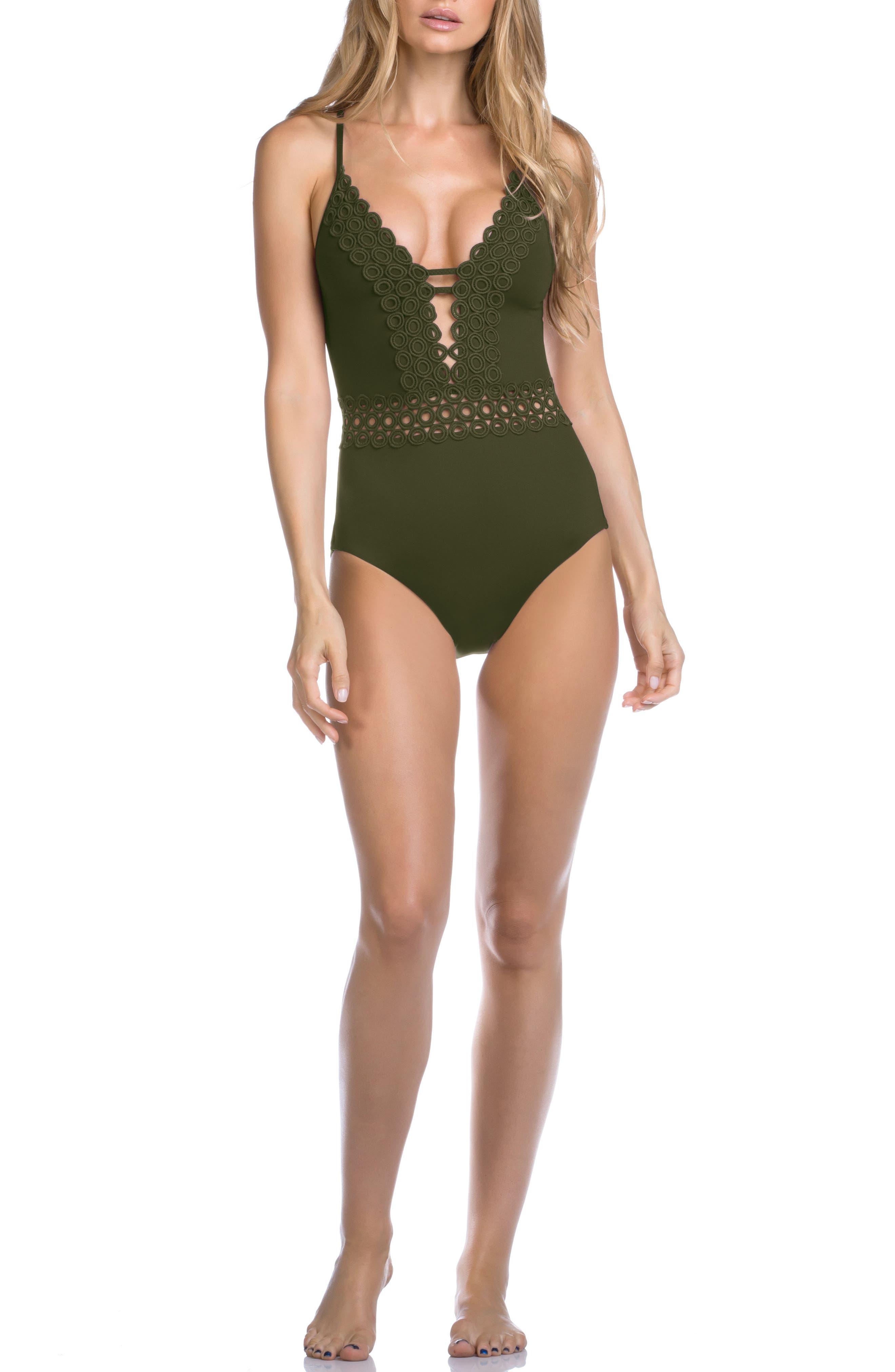 Siren One-Piece Swimsuit,                         Main,                         color, 308