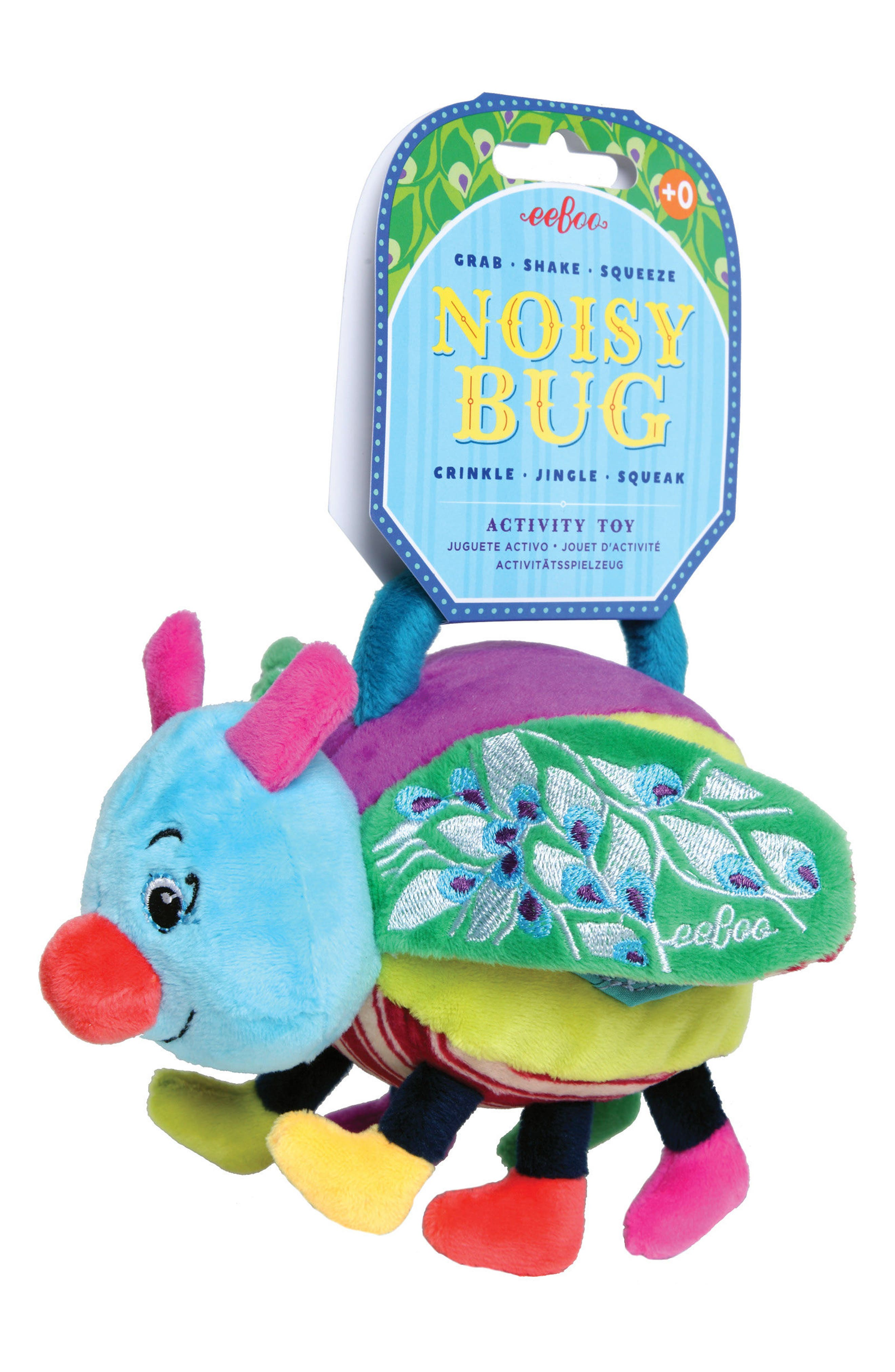 Noisy Bug Stuffed Toy,                             Alternate thumbnail 2, color,                             400