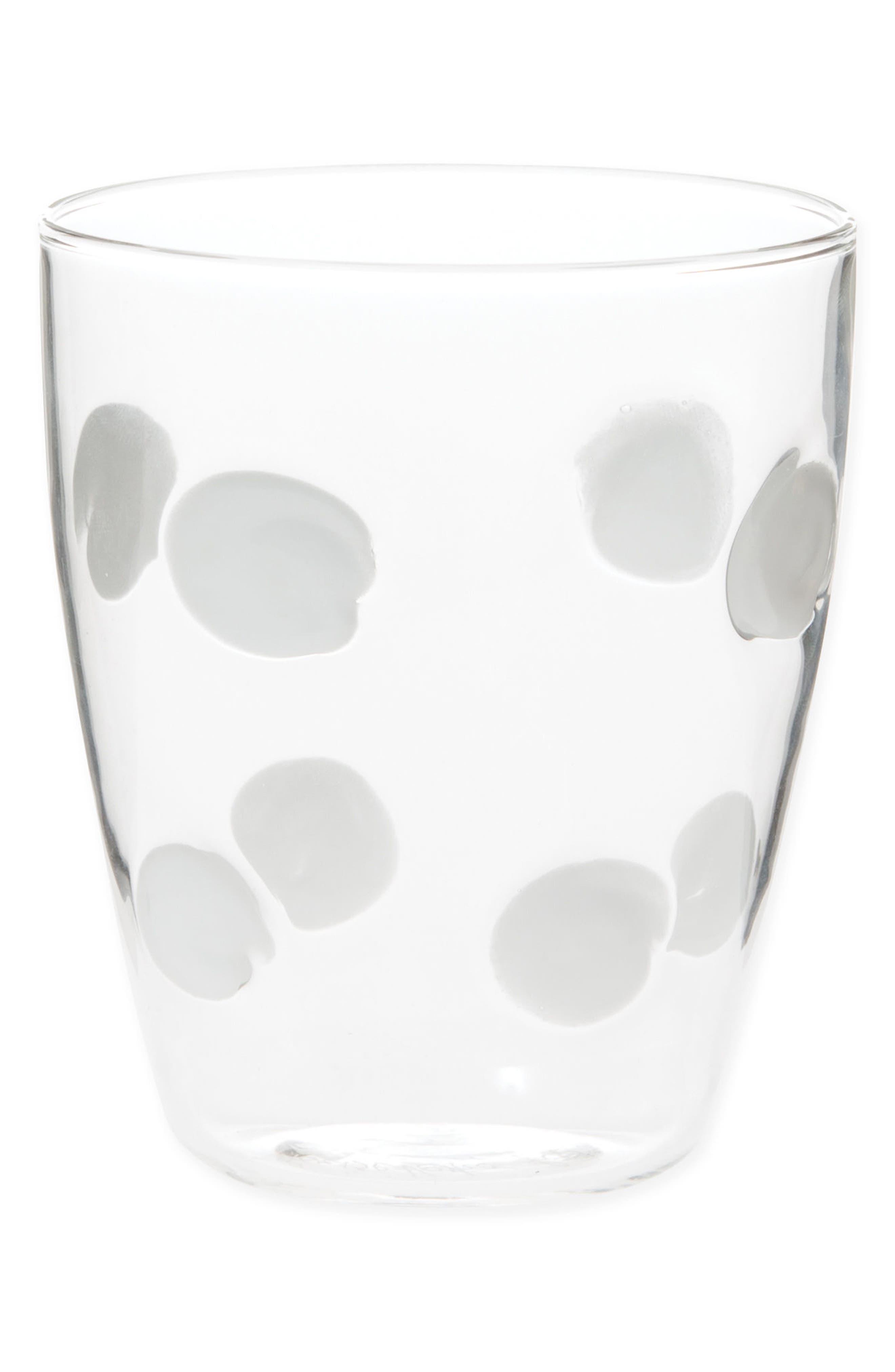 Drop Short Tumbler,                         Main,                         color, WHITE