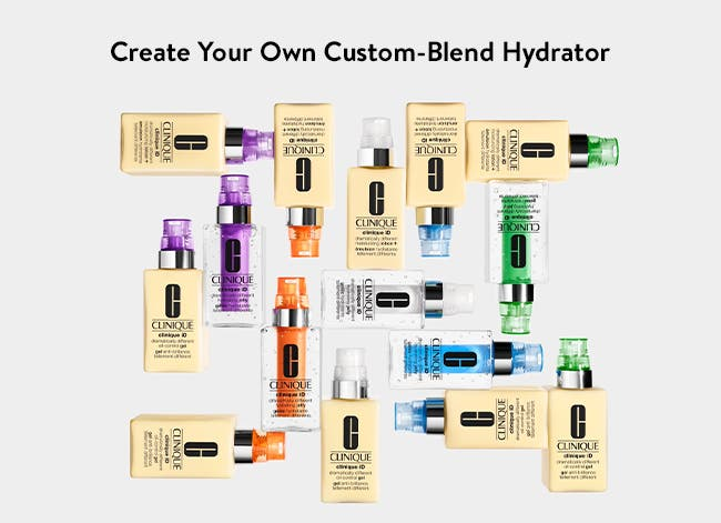 Create your own custom-blend hydrator from Clinique.