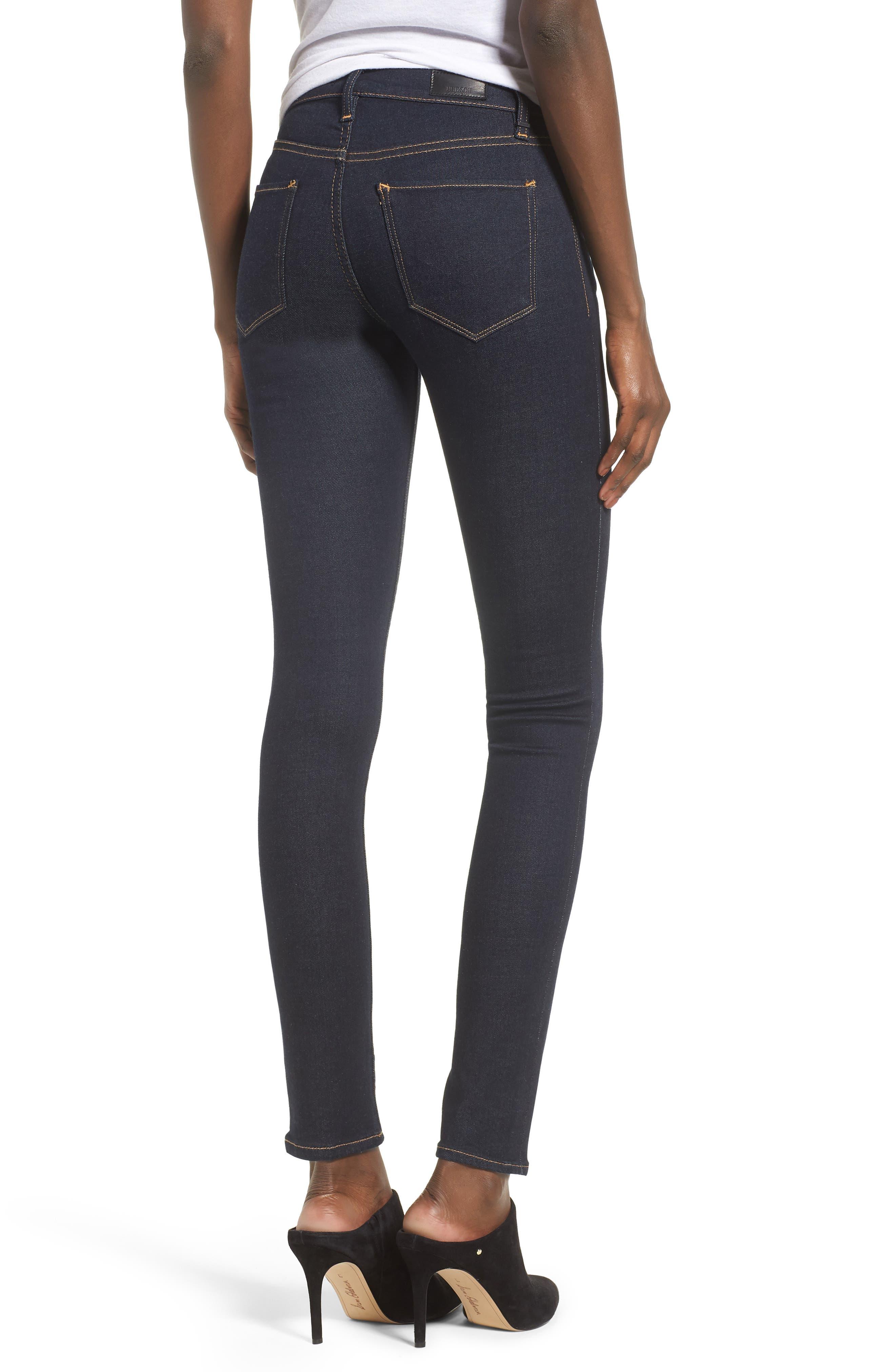 Nico Super Skinny Jeans,                             Alternate thumbnail 2, color,                             SUNSET BLVD