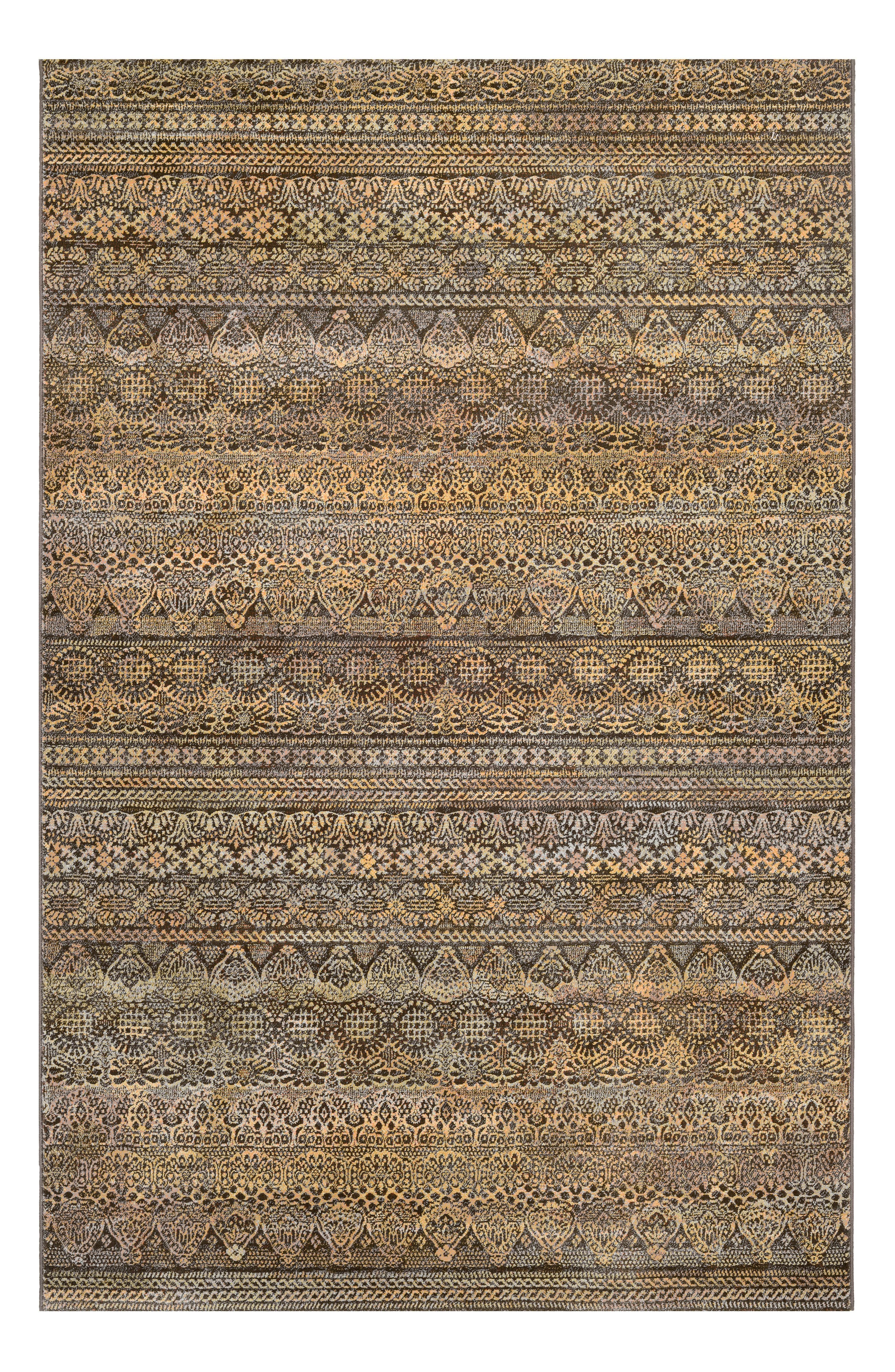Easton Capella Area Rug,                             Main thumbnail 1, color,                             BROWN/ MULTI