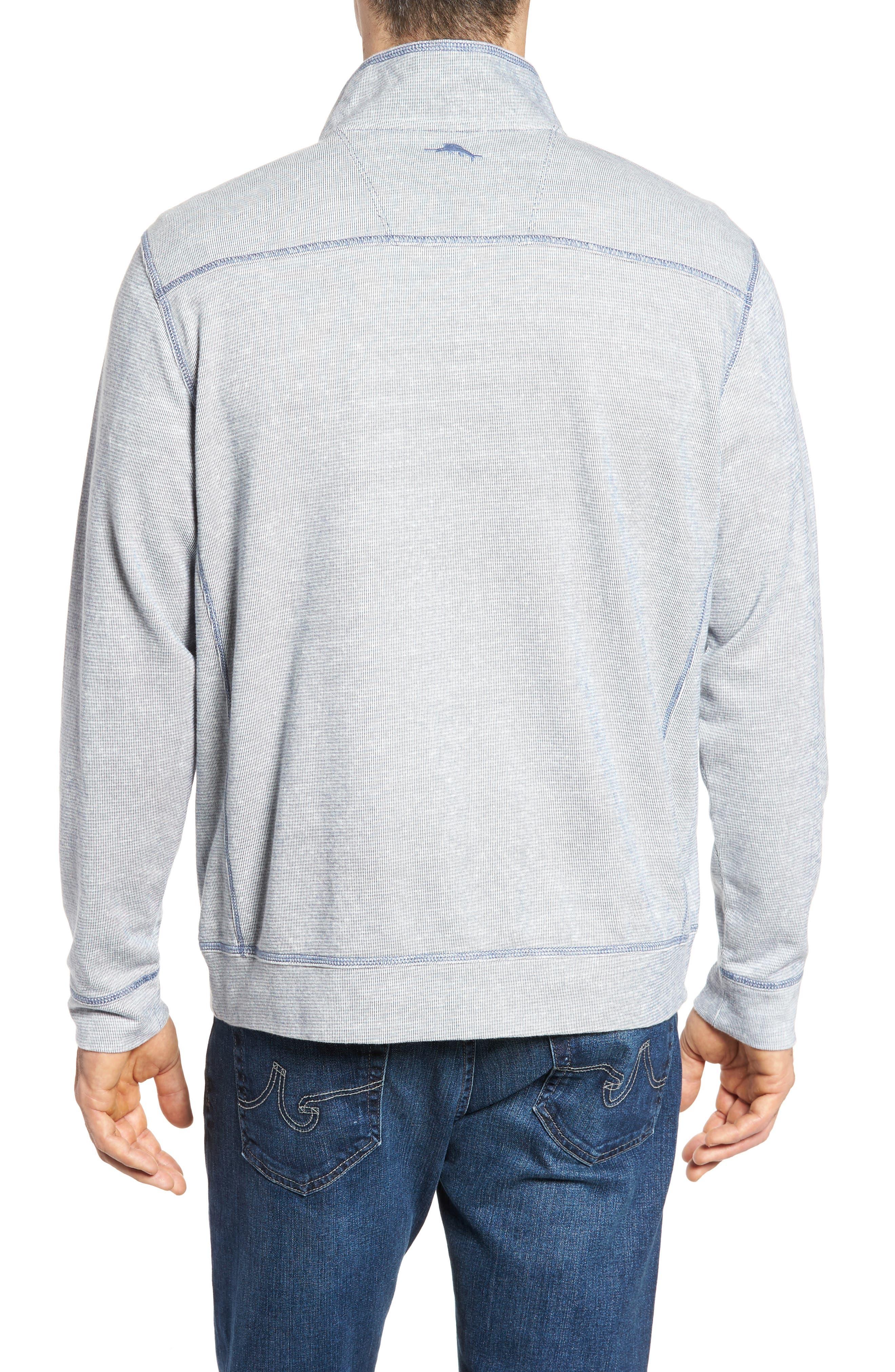 Ocean Mist Snap Mock Neck Sweater,                             Alternate thumbnail 5, color,