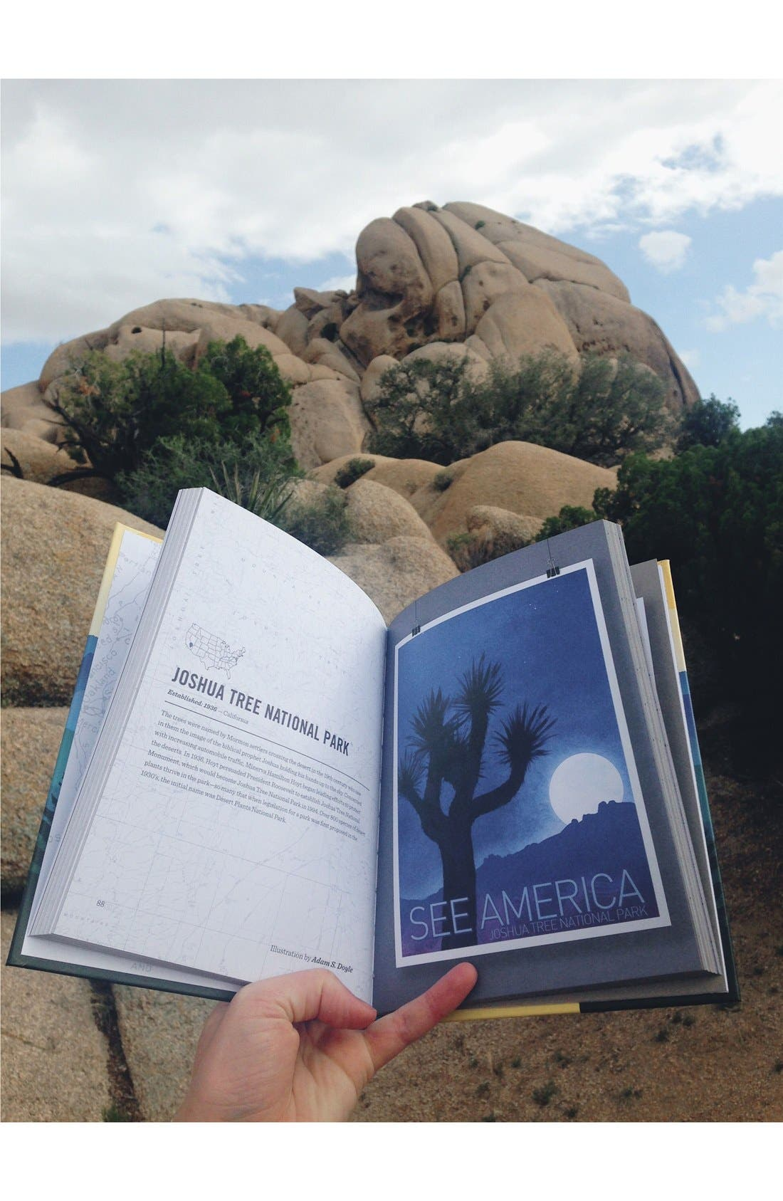 'See America - A Celebration of Our National Parks & Treasured Sites' Book,                             Alternate thumbnail 4, color,