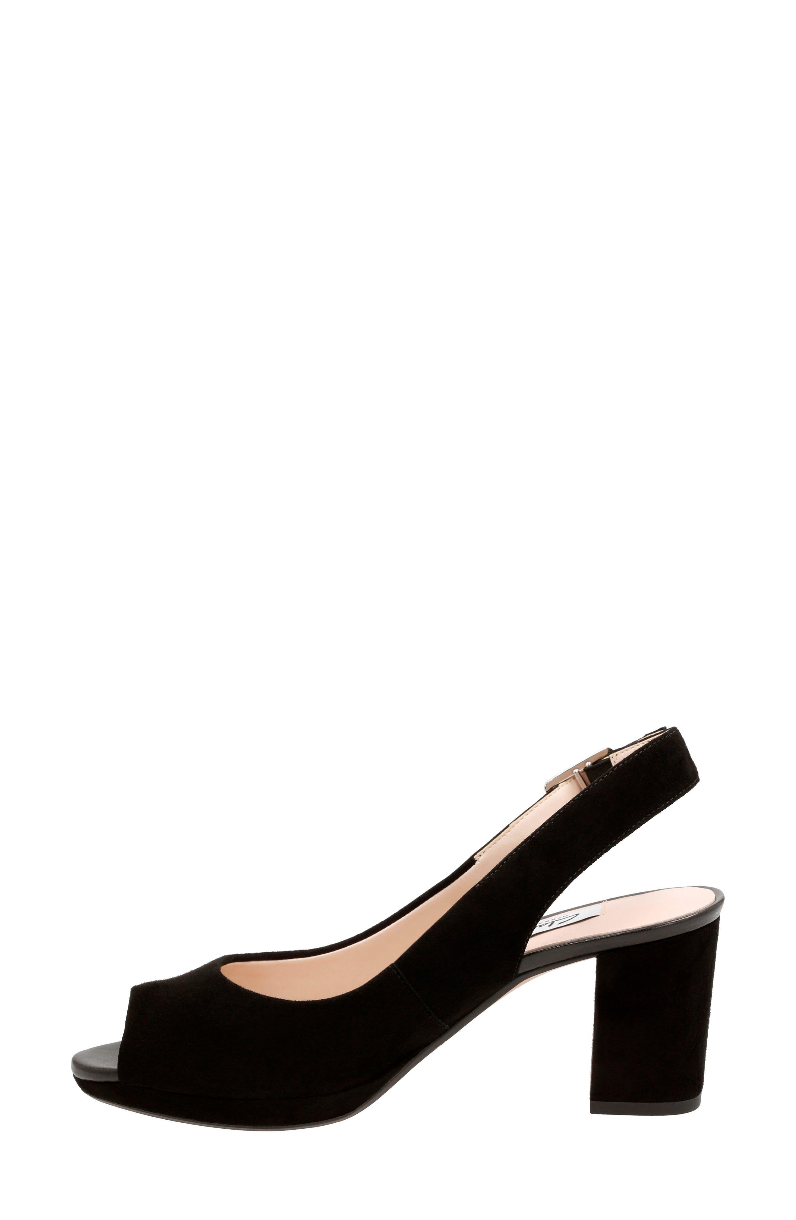 Kelda Slingback Sandal,                             Alternate thumbnail 2, color,                             007