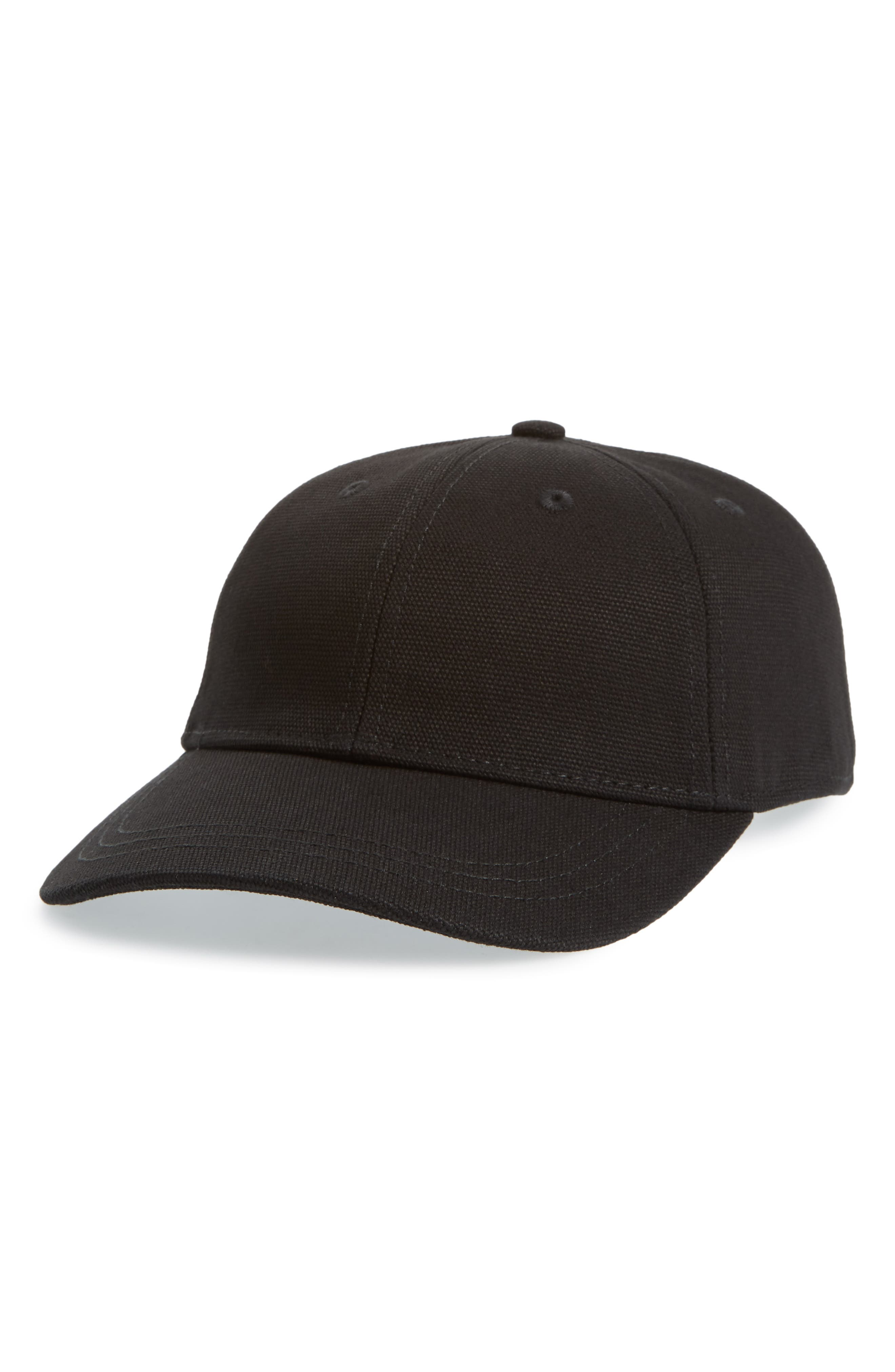 Embroidered Ciao for Now Canvas Baseball Cap,                         Main,                         color, 001