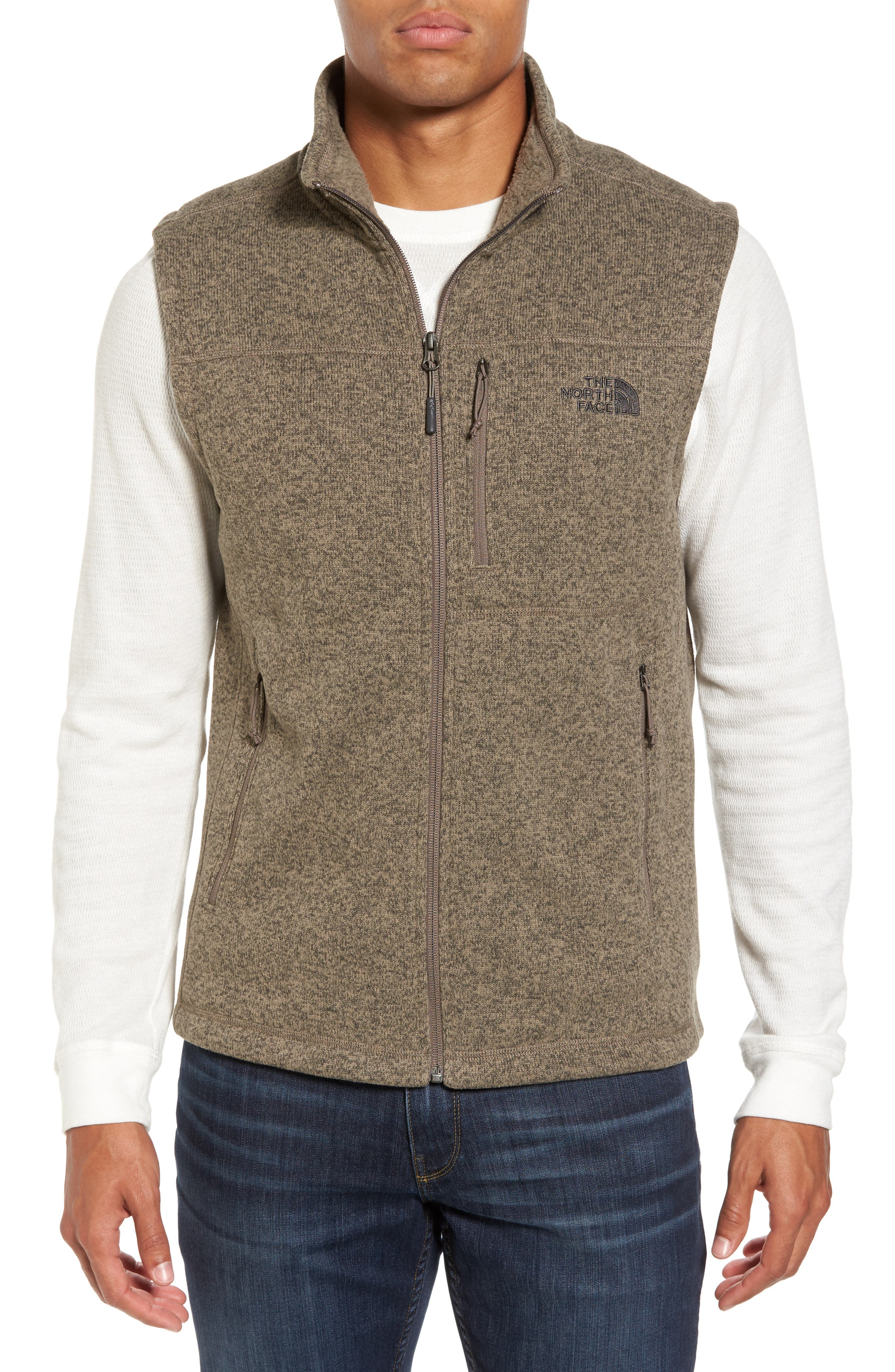Gordon Lyons Zip Fleece Vest,                             Main thumbnail 3, color,