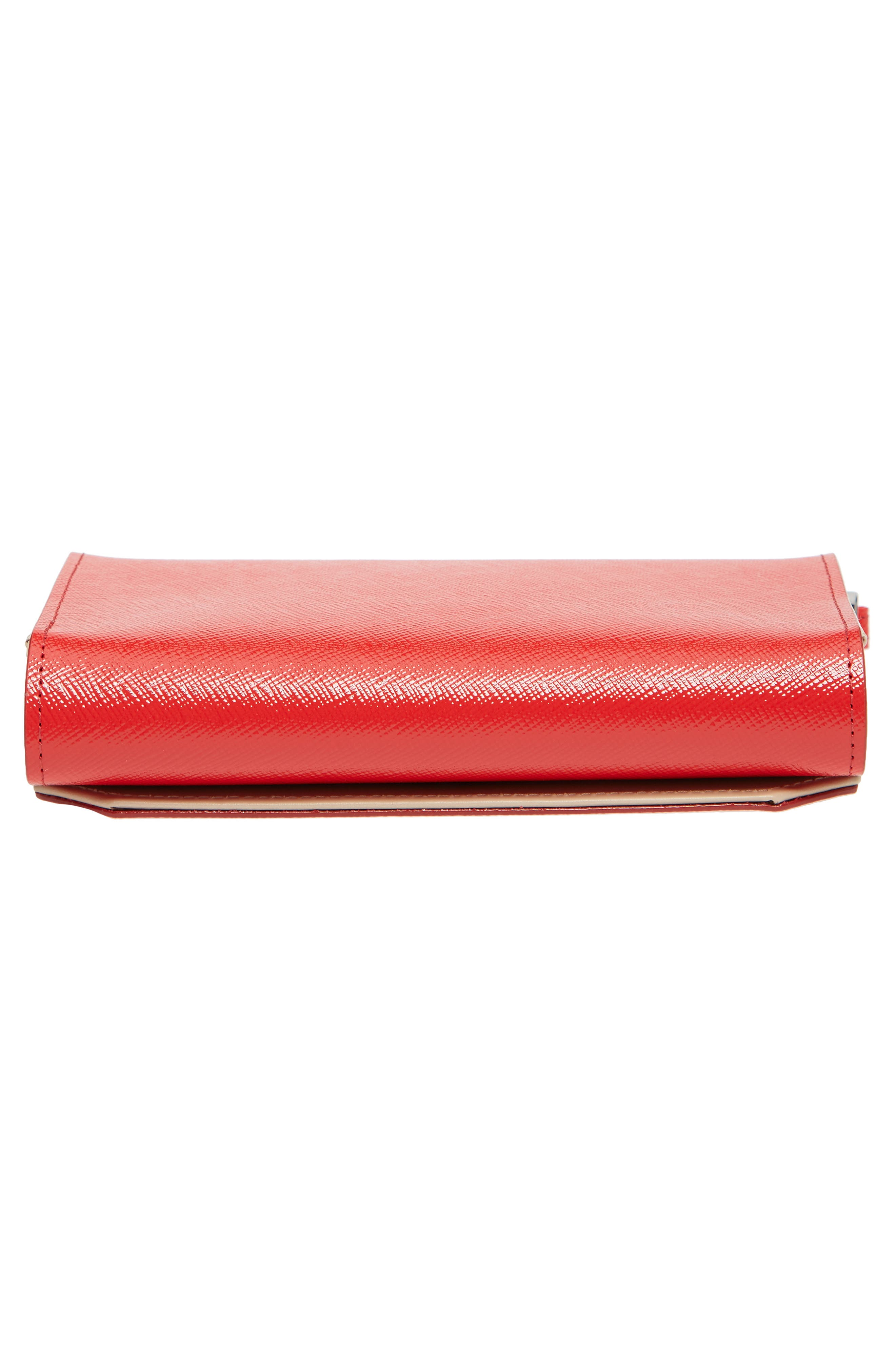 Trifold Leather Wallet,                             Alternate thumbnail 33, color,