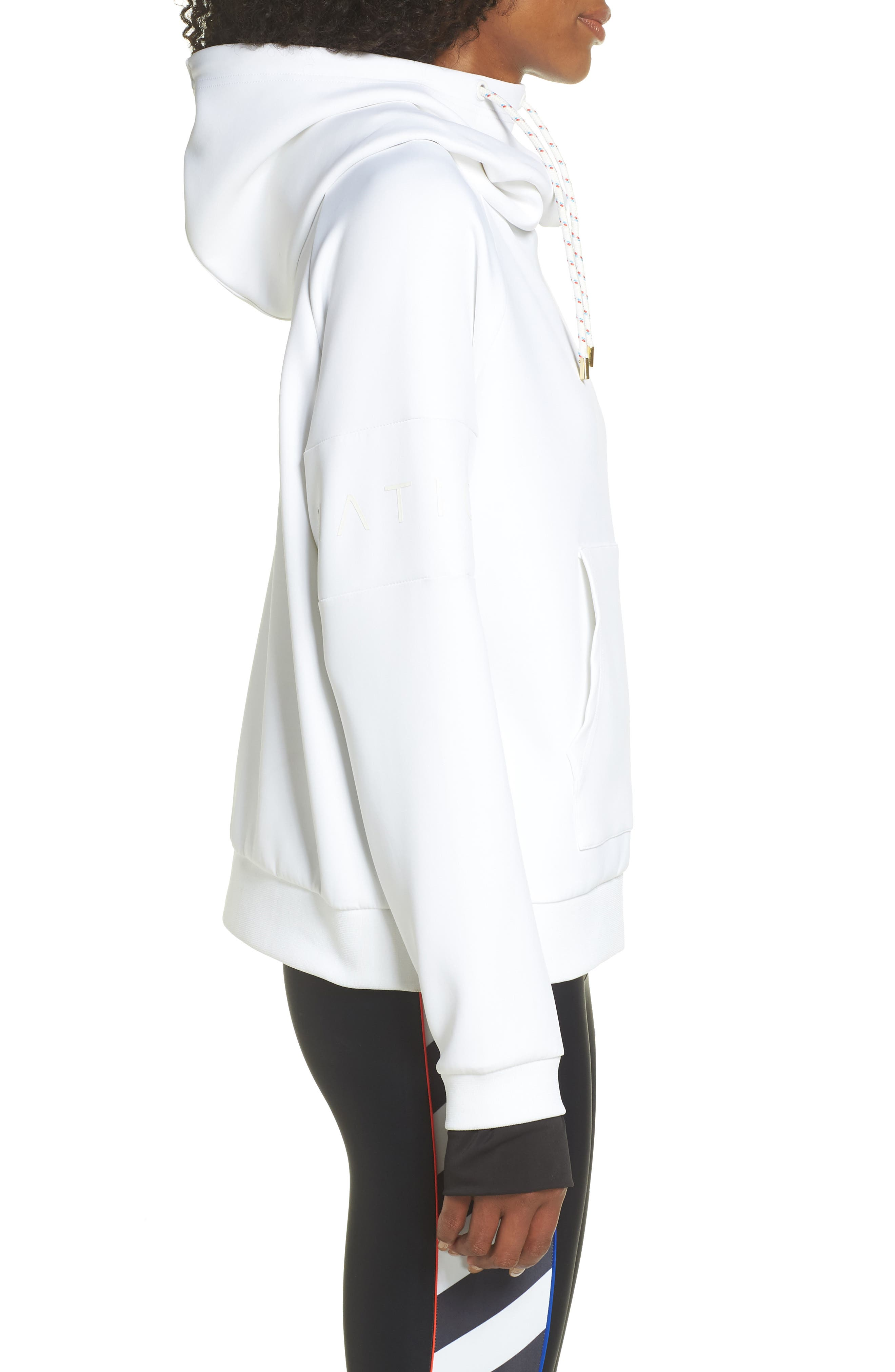 The Defender Ace Hoodie,                             Alternate thumbnail 3, color,                             WHITE