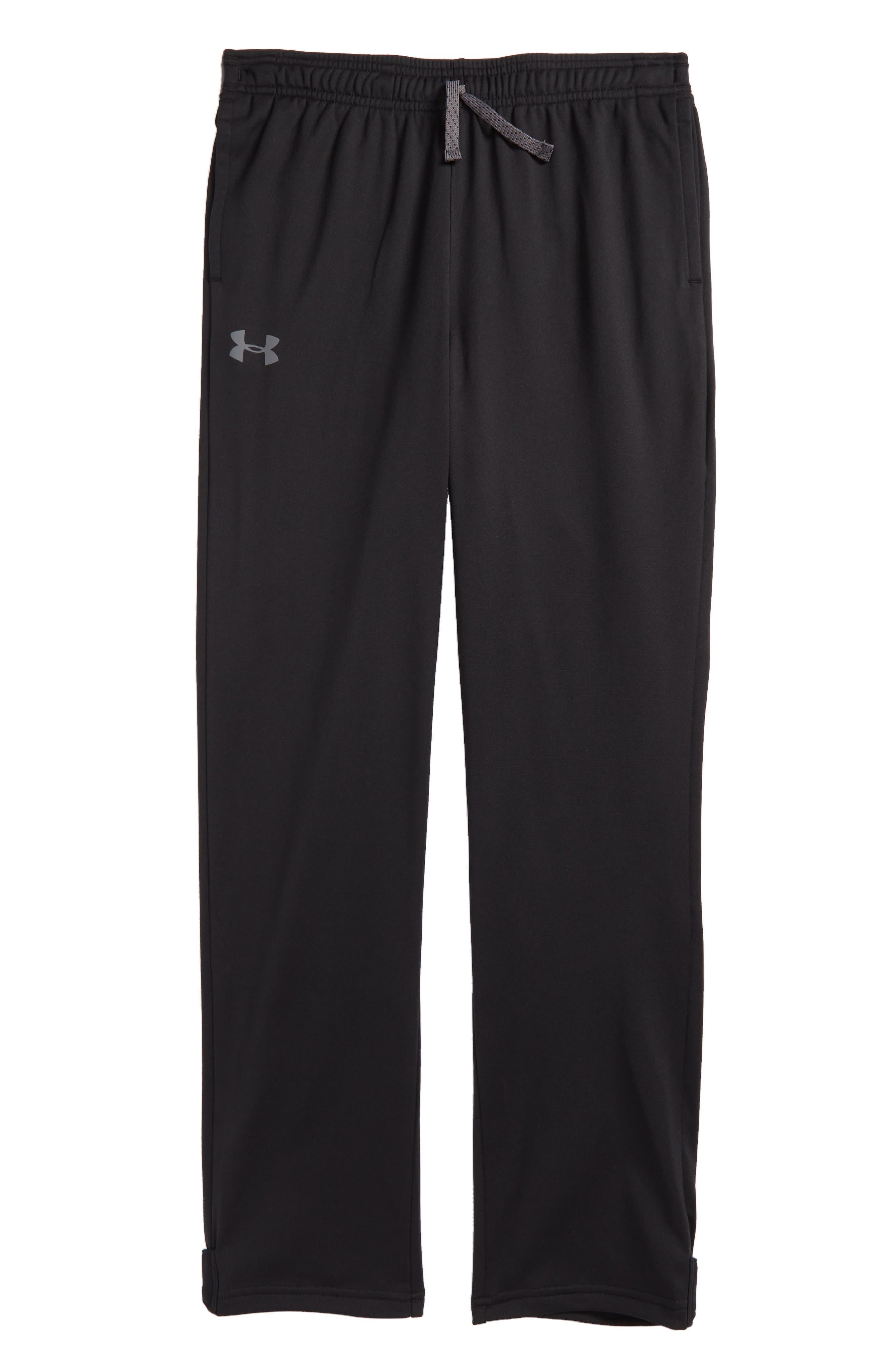 UNDER ARMOUR Brawler Slim Sweatpants, Main, color, 001