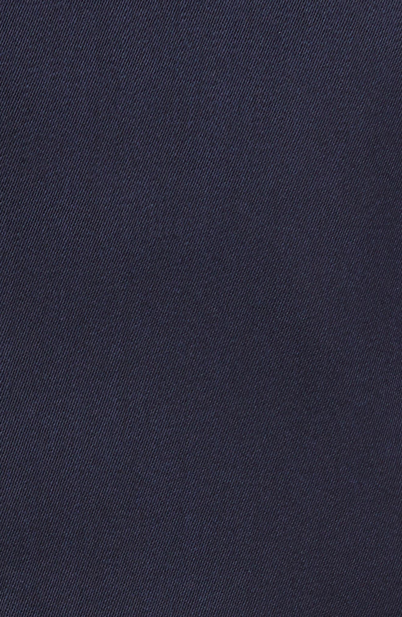 Unconstructed Wool Blend Sport Coat,                             Alternate thumbnail 6, color,                             NAVY