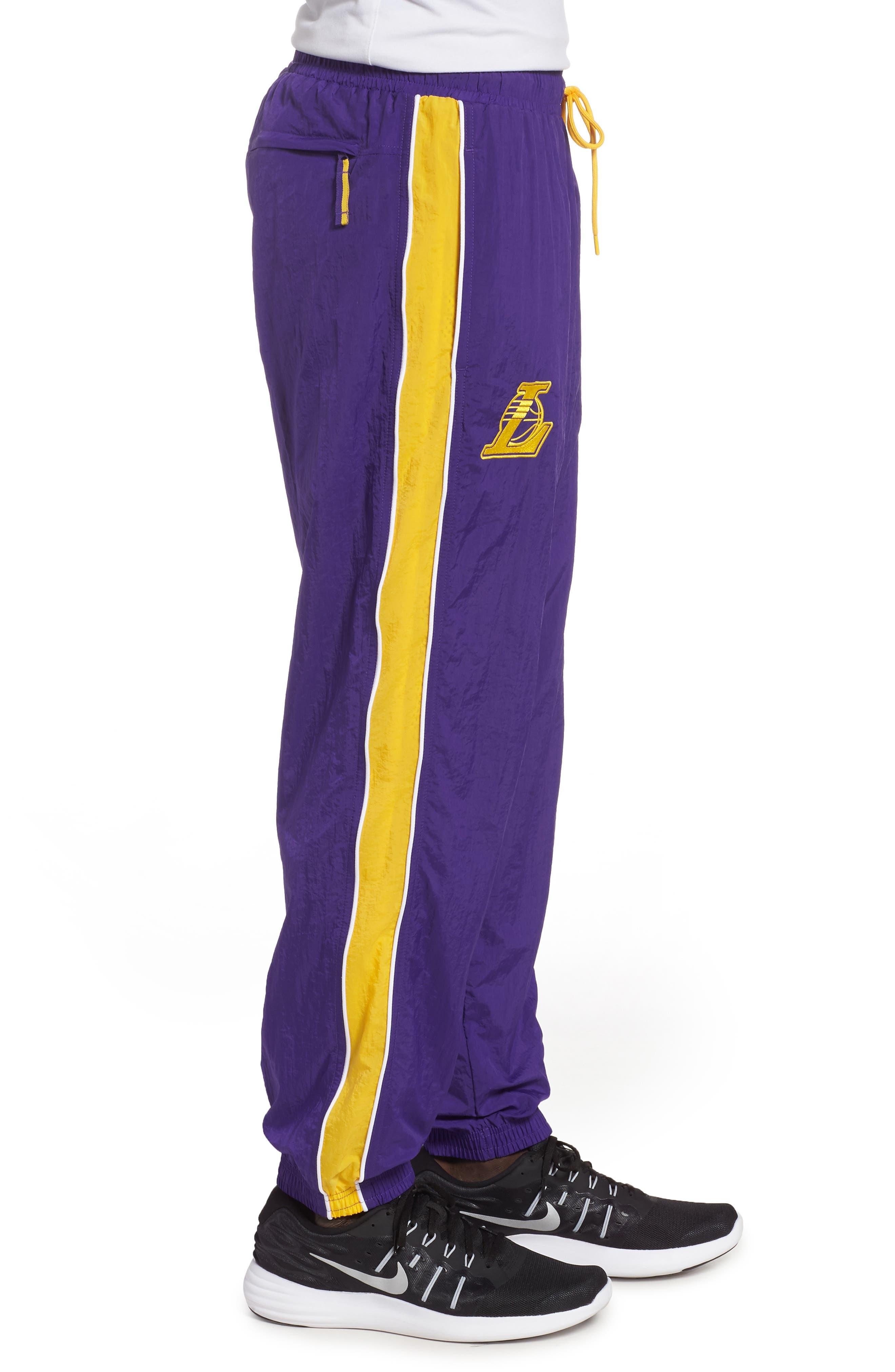 LA Lakers Tracksuit Pants,                             Alternate thumbnail 3, color,                             504