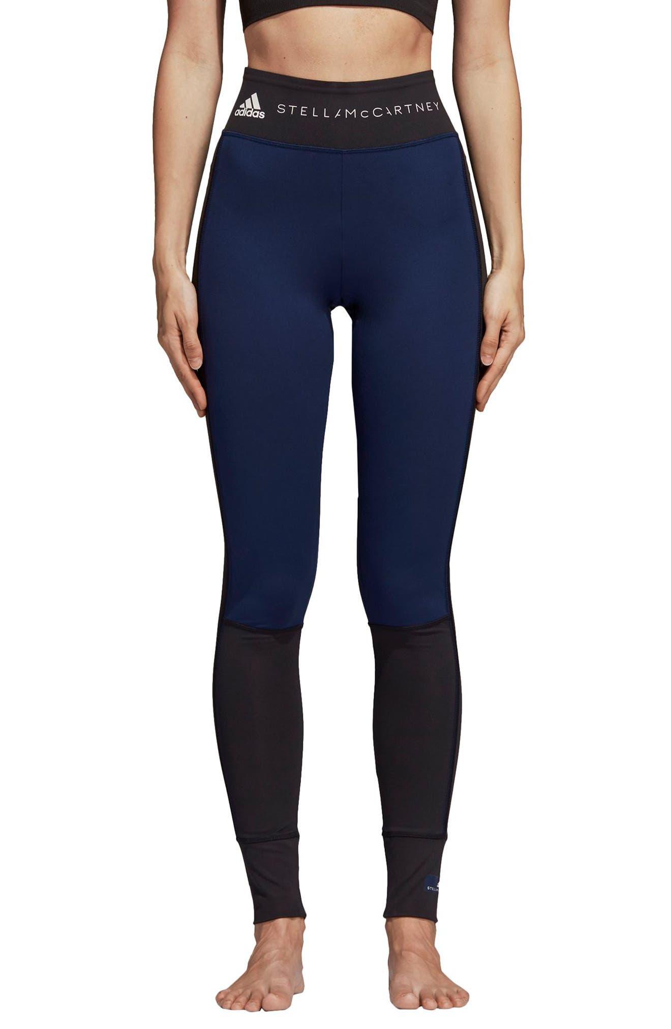 Yoga Comfort Performance Tights,                         Main,                         color, BLACK/ NIND