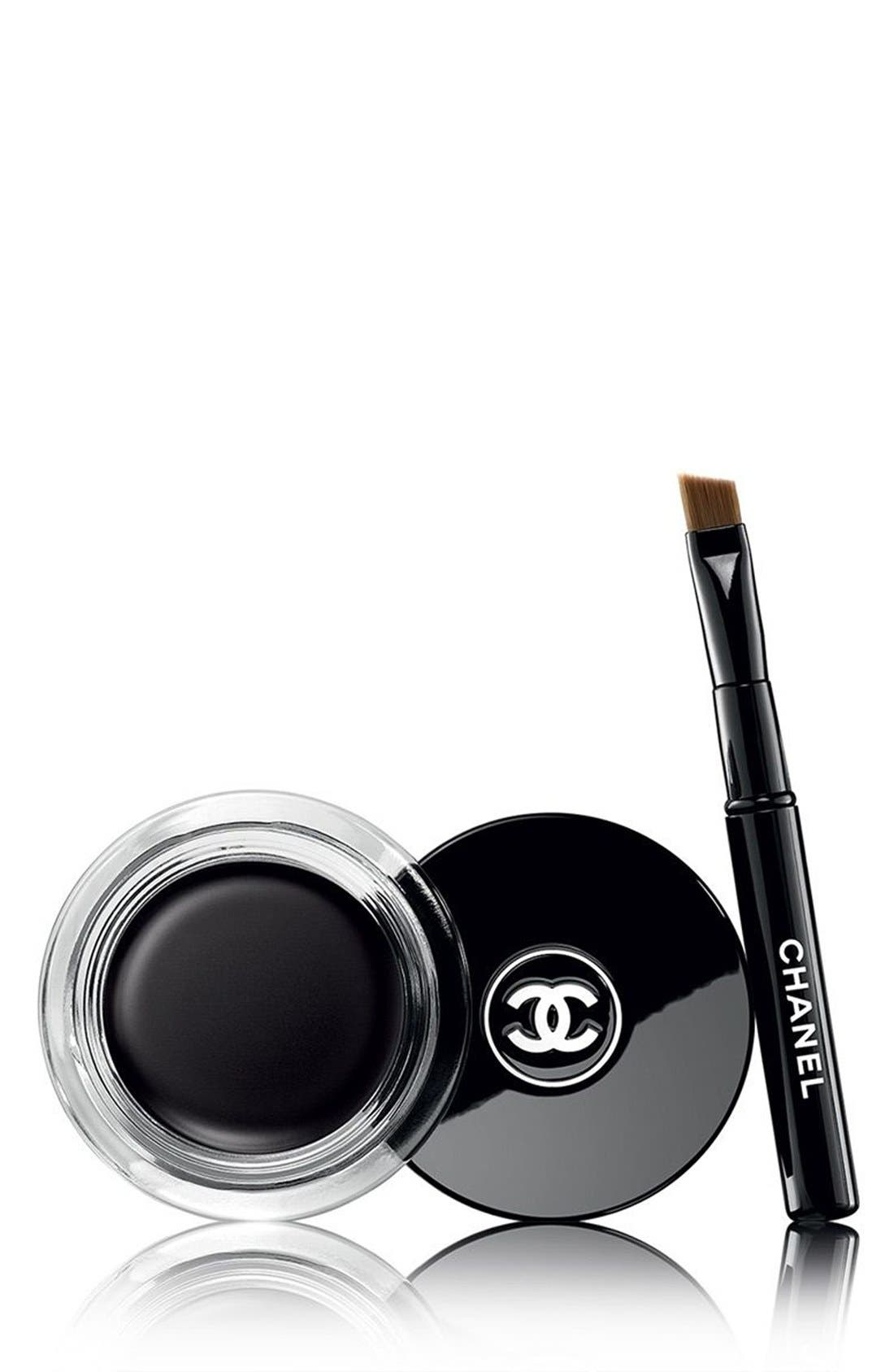 CALLIGRAPHIE DE CHANEL<br />Longwear Intense Cream Eyeliner, Main, color, 65 HYPERBLACK