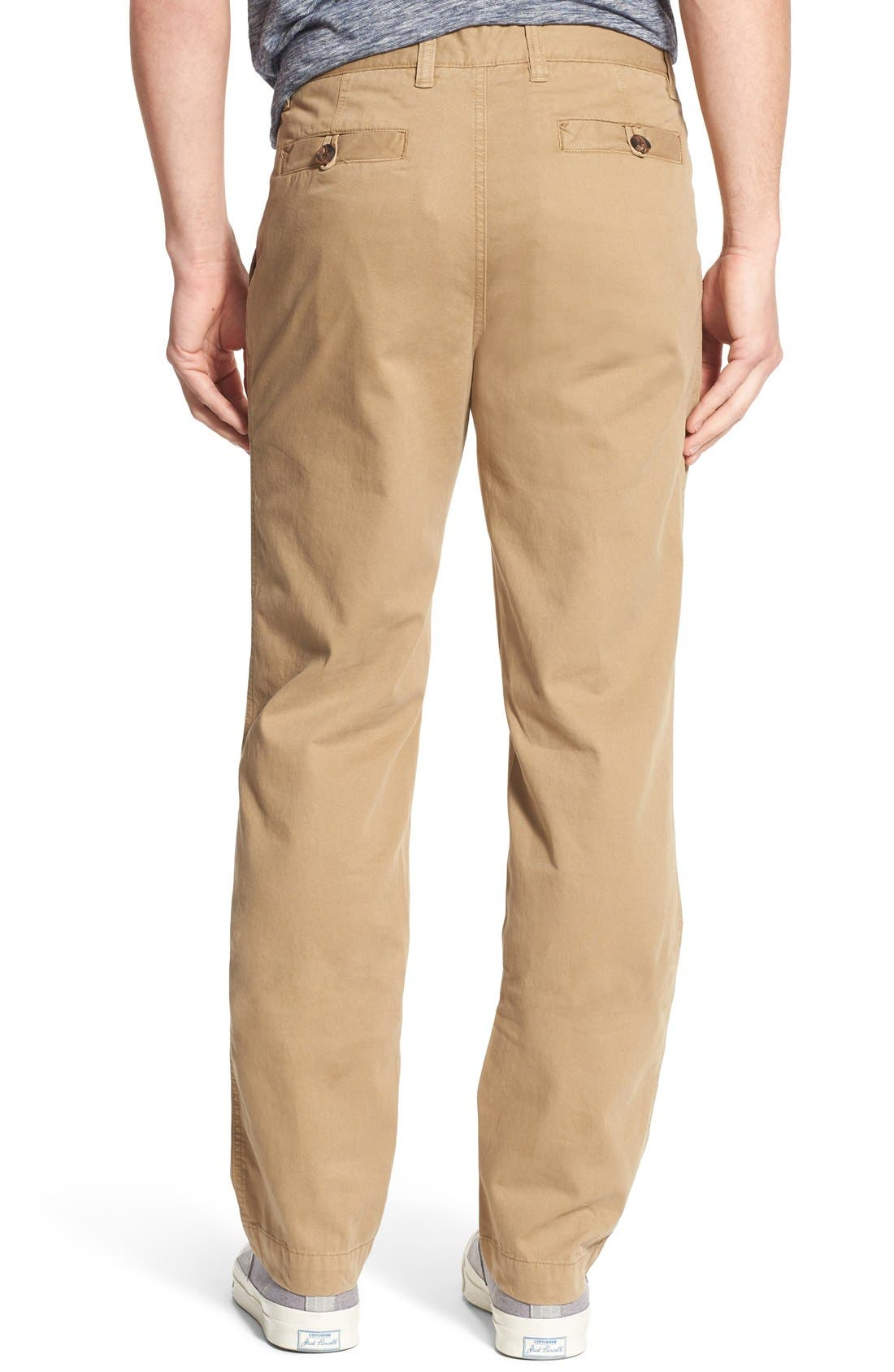 'Sahara' Trim Fit Vintage Washed Twill Chinos,                             Alternate thumbnail 14, color,