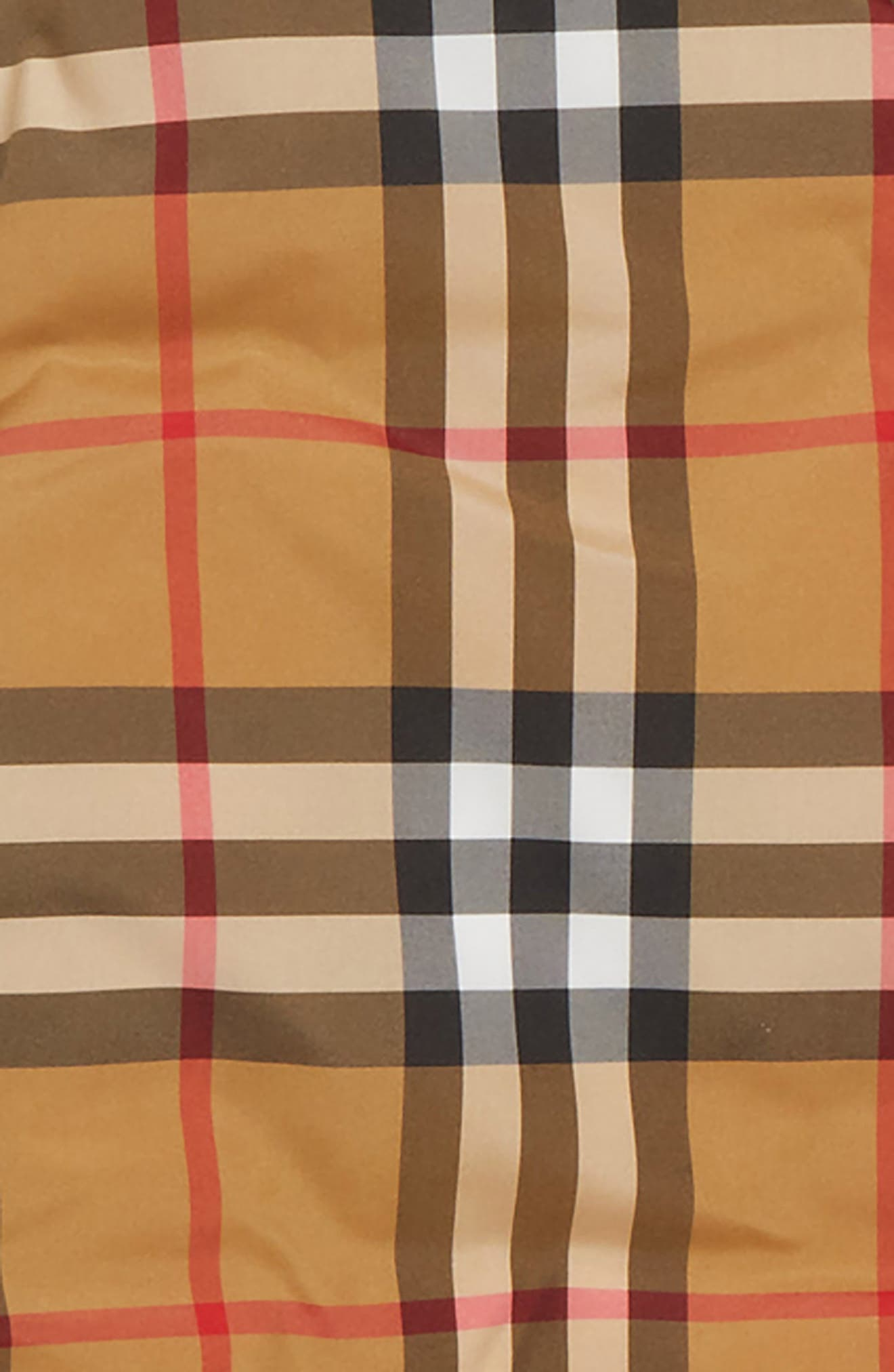 BURBERRY,                             Rio Check Hooded Jacket,                             Alternate thumbnail 2, color,                             701