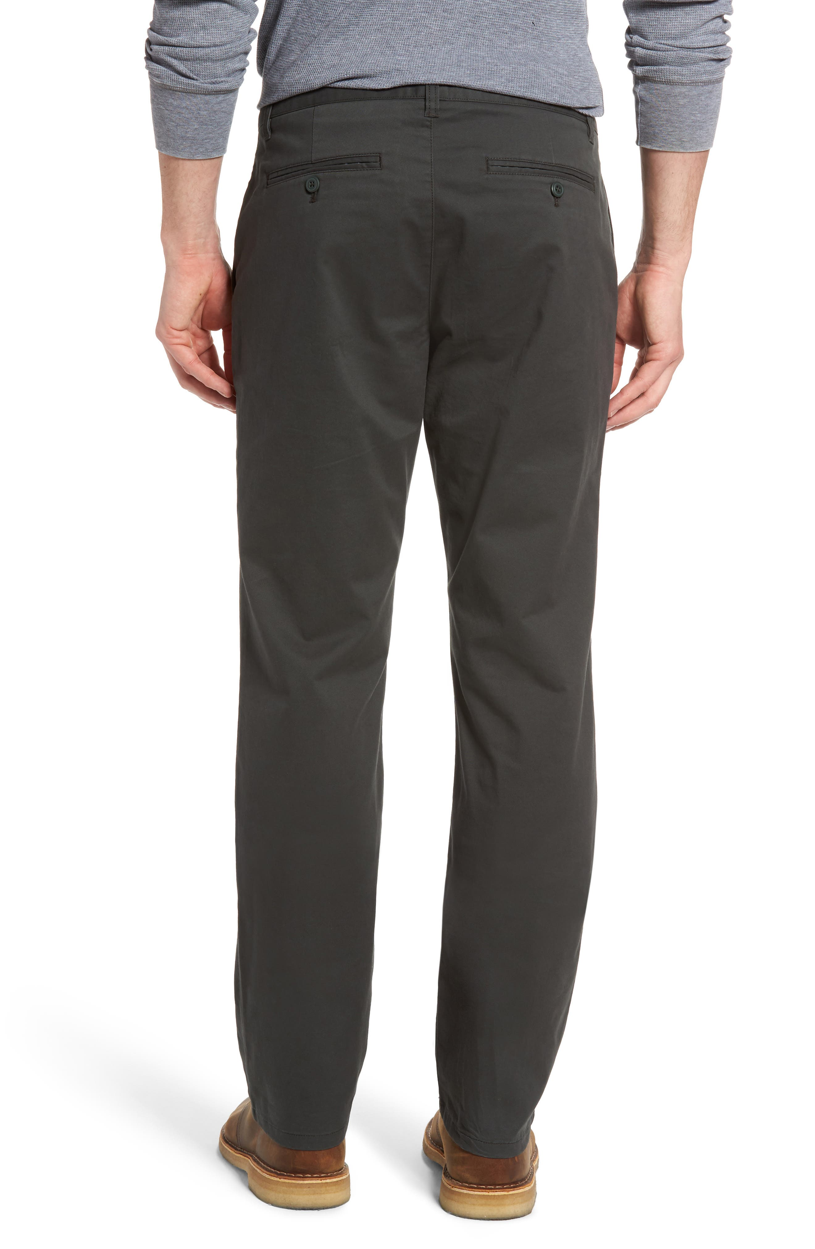 Straight Leg Stretch Washed Chinos,                             Alternate thumbnail 6, color,