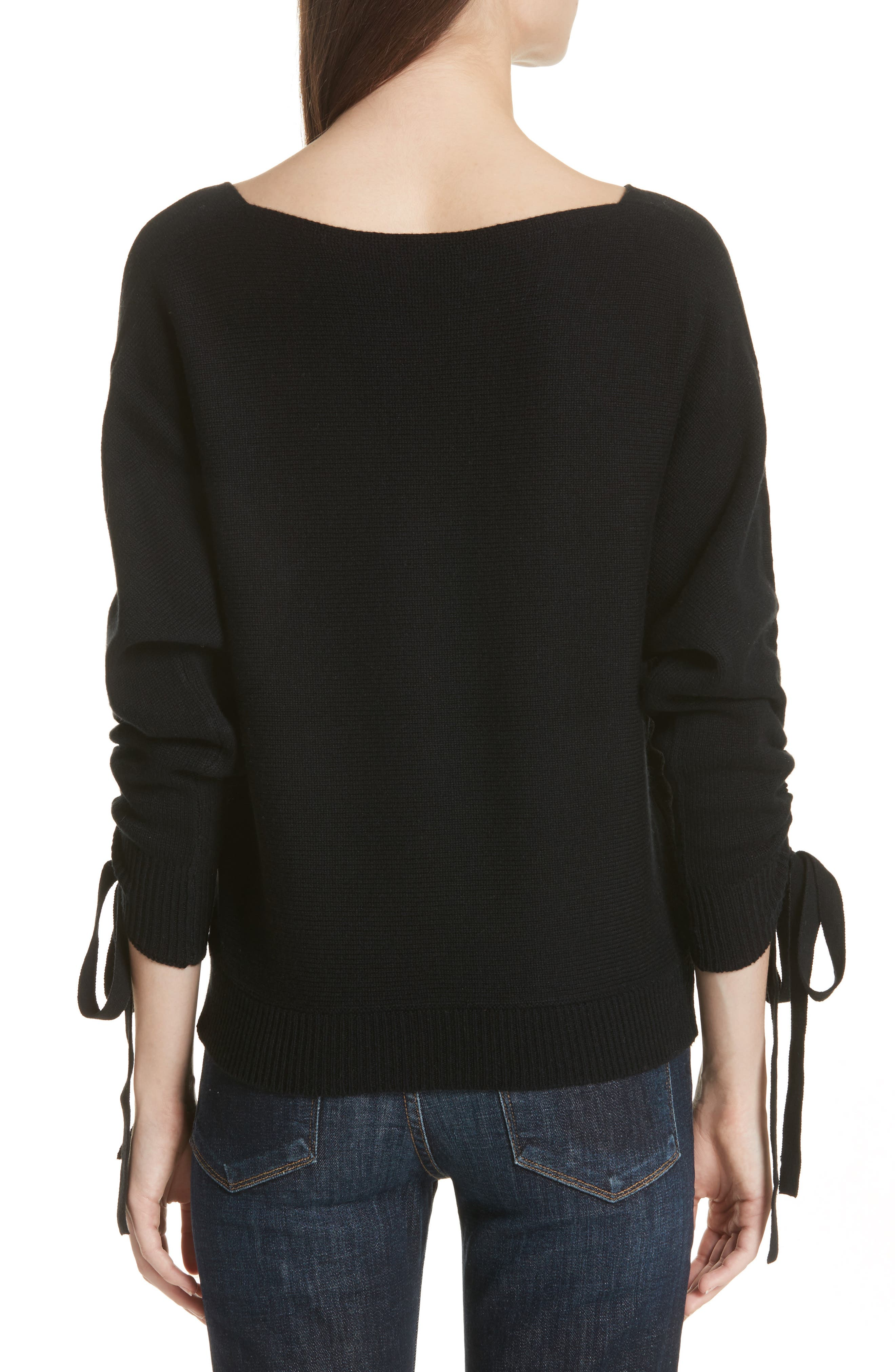 Dannee Wool & Cashmere Sweater,                             Alternate thumbnail 2, color,                             002