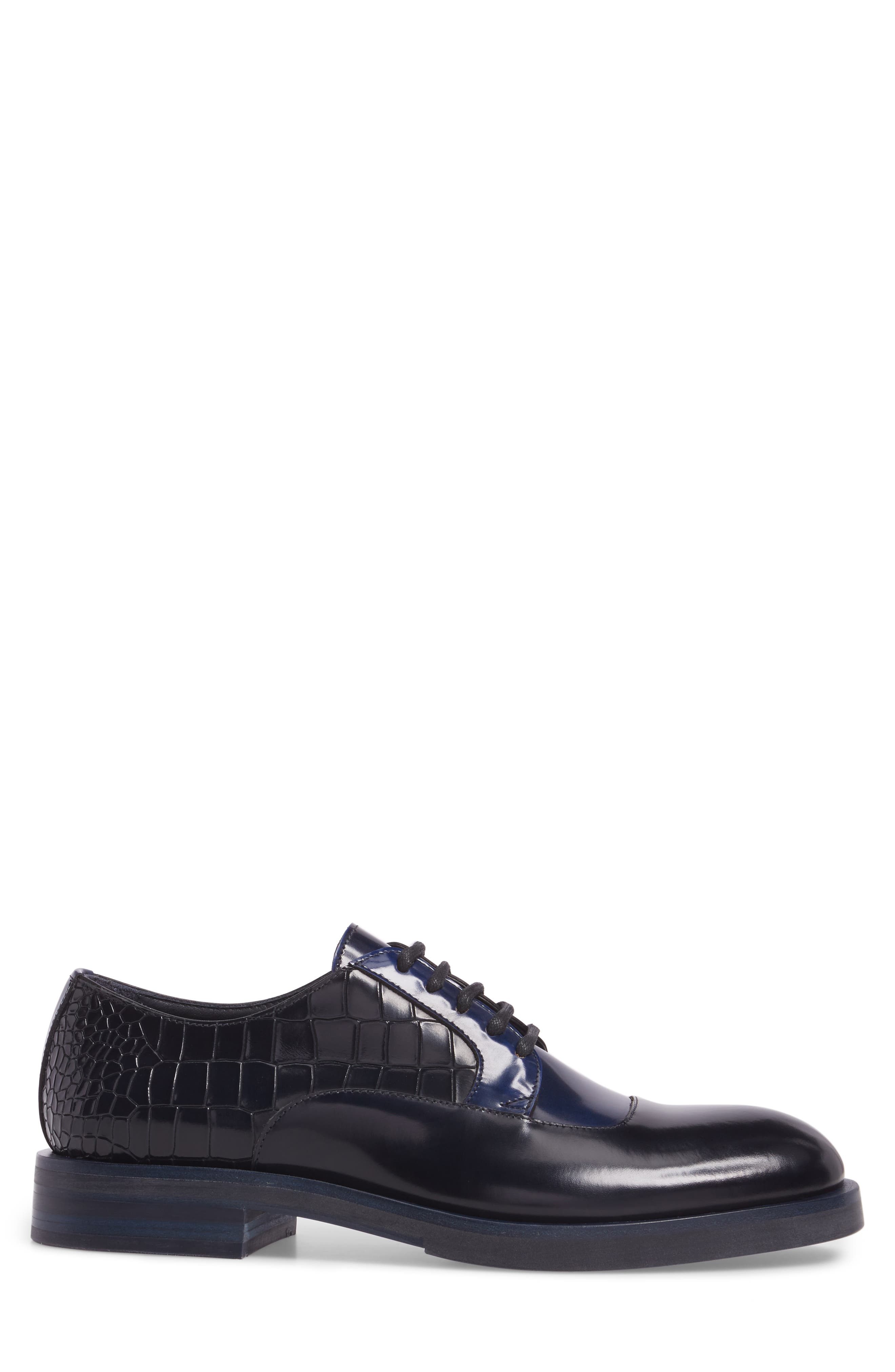 Bolan Croc Embossed Oxford,                             Alternate thumbnail 3, color,                             410