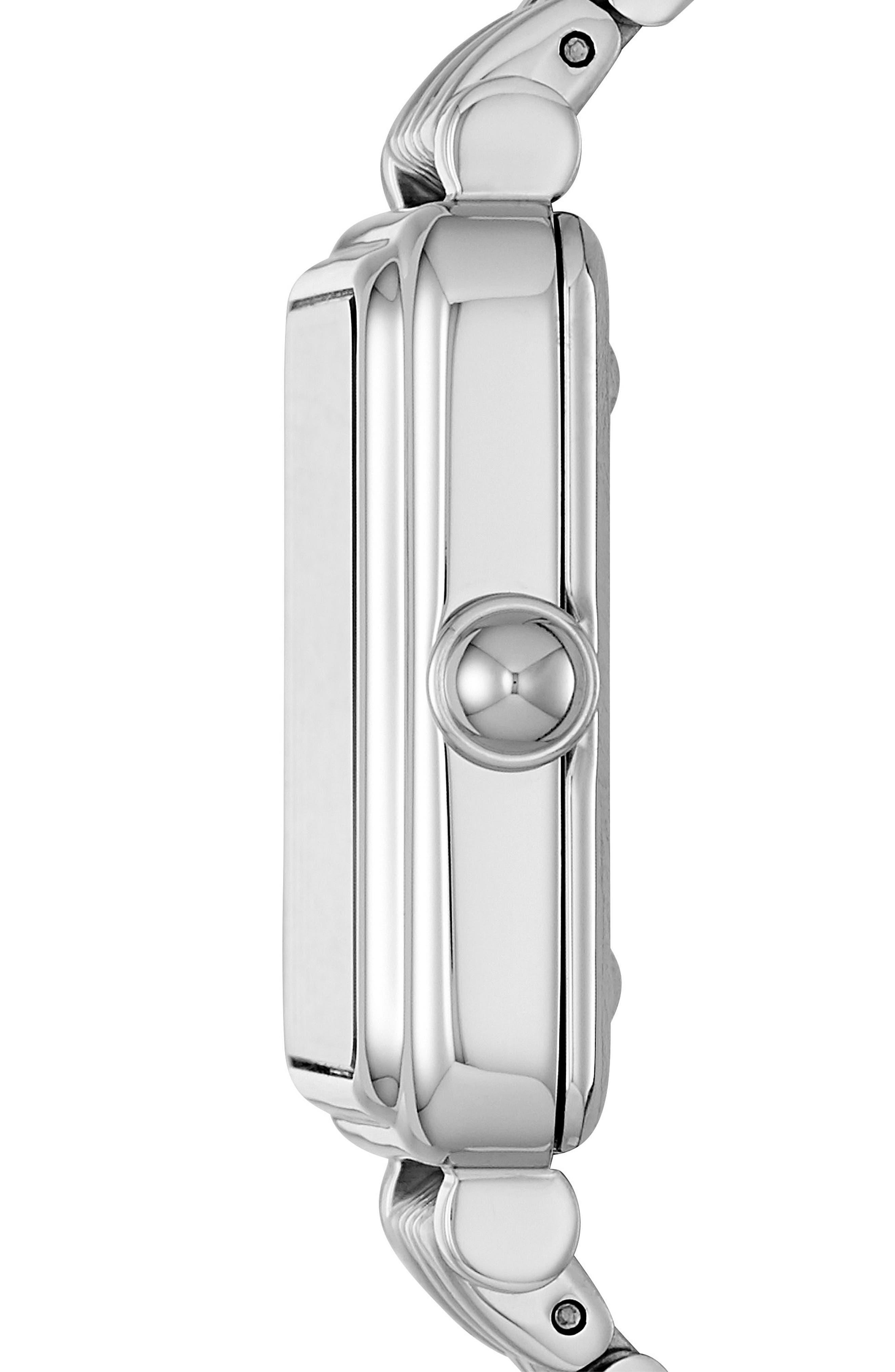 Square Vic Bracelet Watch, 30mm,                             Alternate thumbnail 3, color,                             040