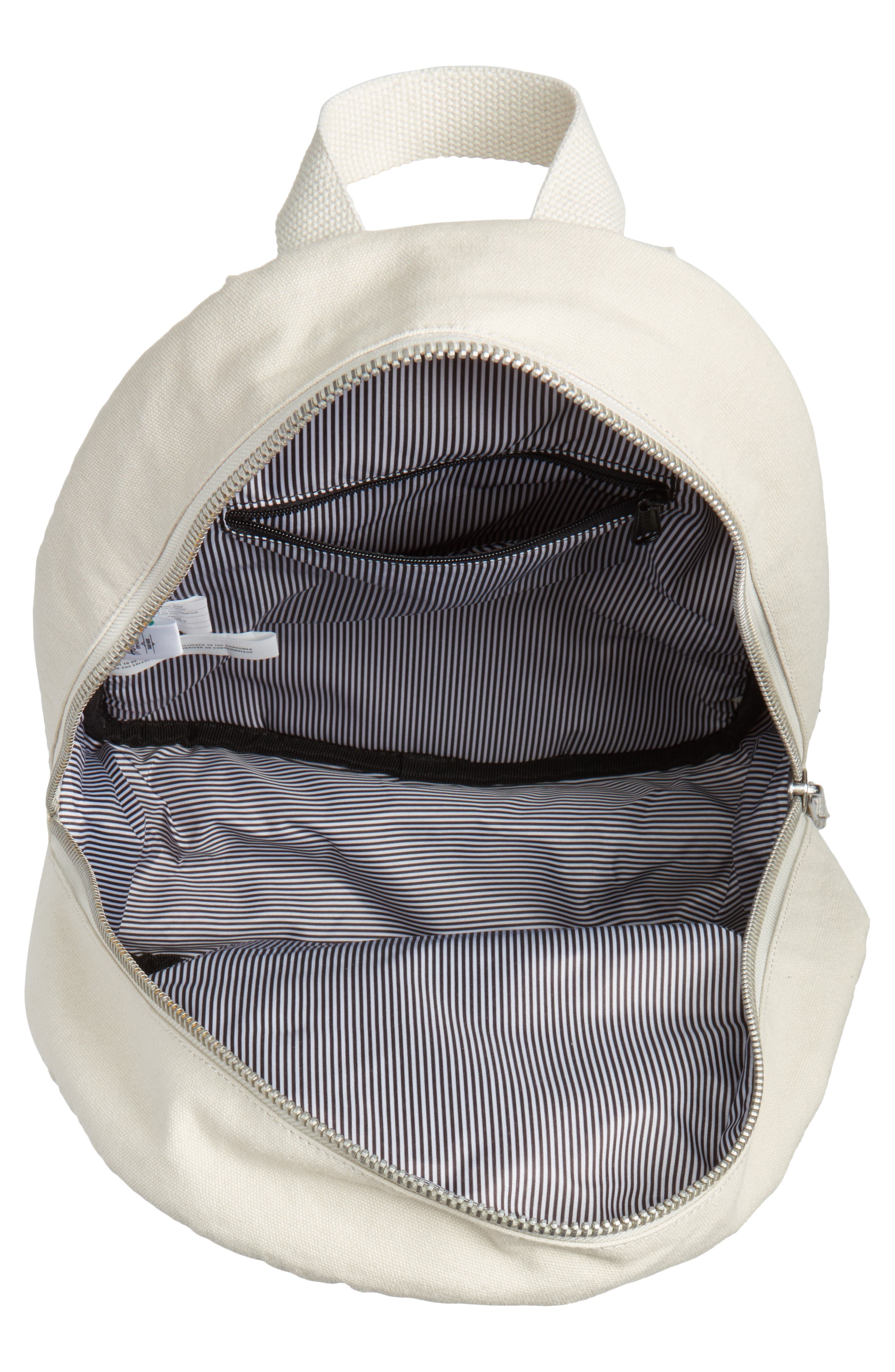X-Small Grove Cotton Canvas Backpack,                             Alternate thumbnail 14, color,