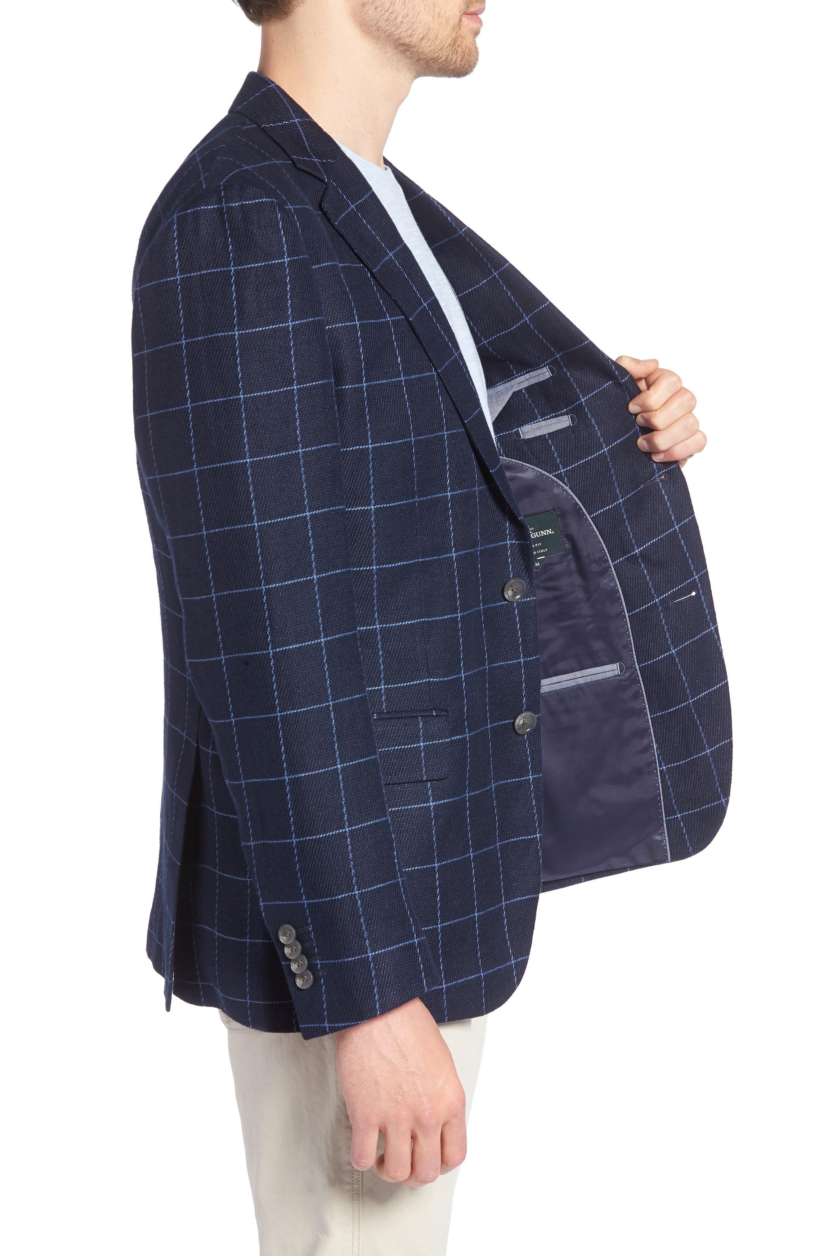 Underwood Regular Fit Sport Coat,                             Alternate thumbnail 3, color,                             NAVY